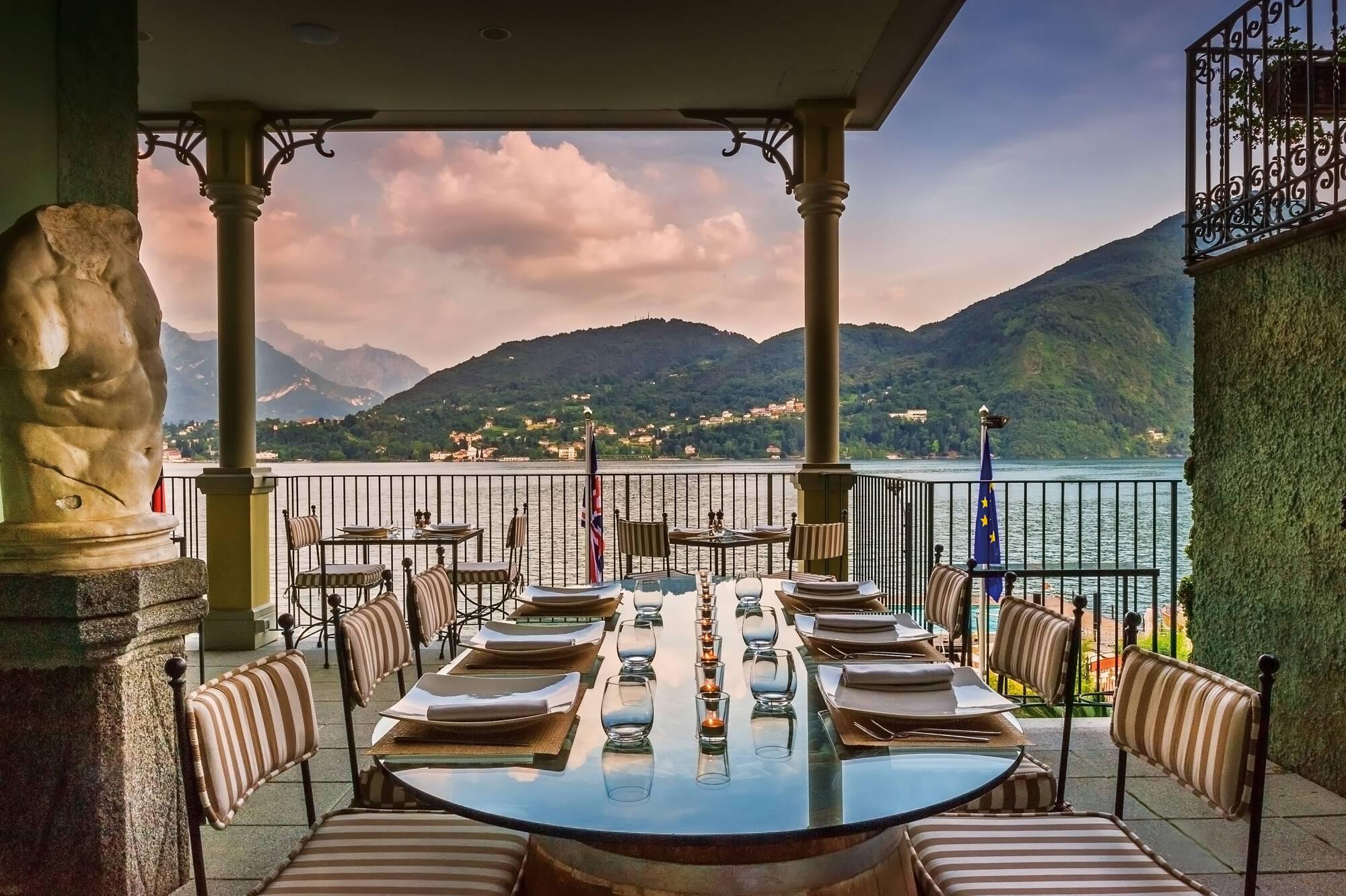 Grand Hotel Tremezzo Lac Come restaurant l escale terrasse