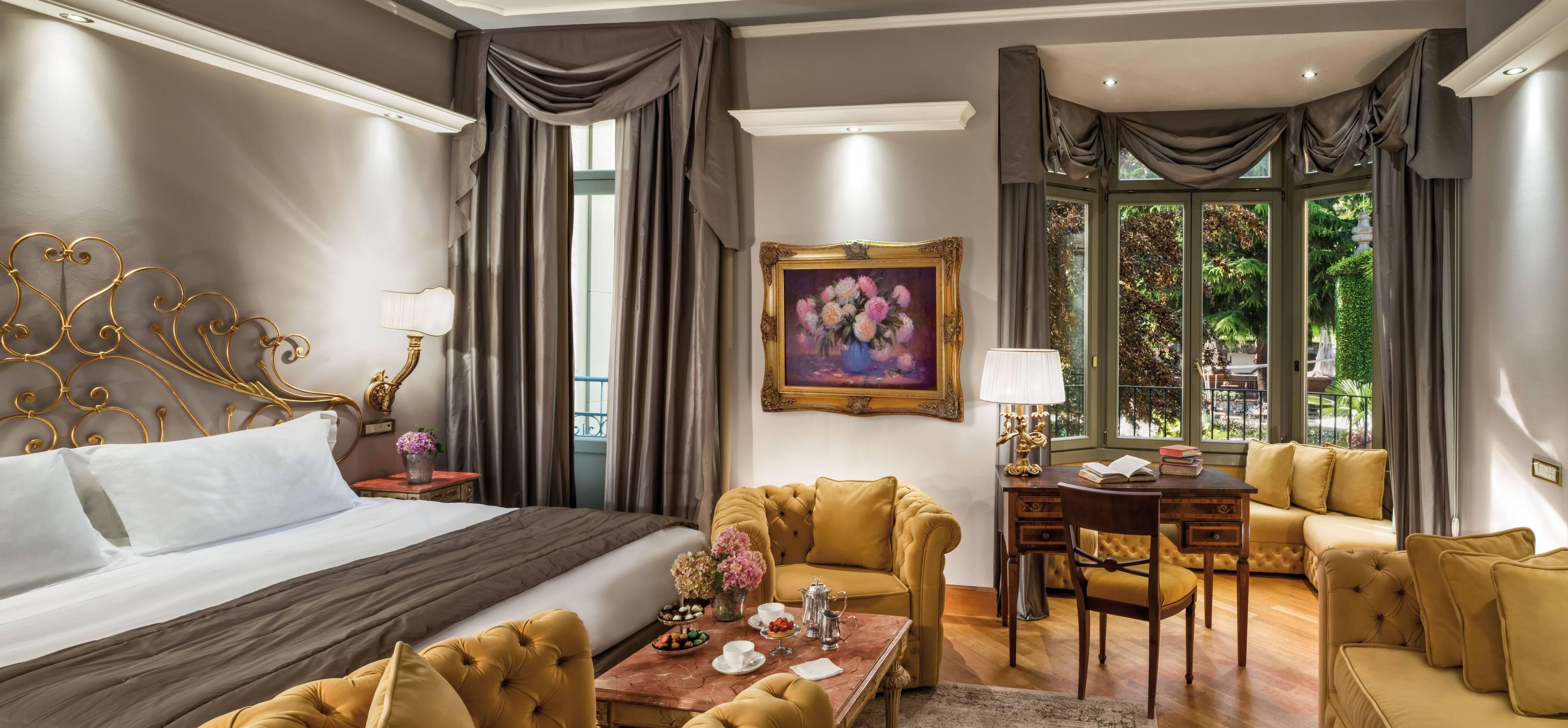 Grand Hotel Tremezzo Lac Come view deluxe chambre tommy picone