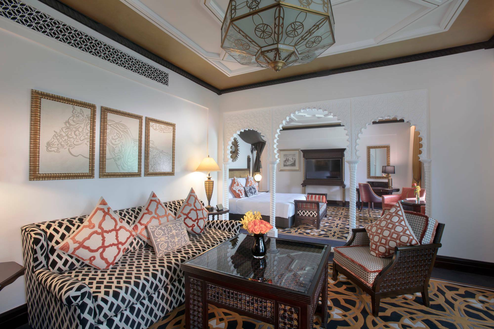 Jumeirah al Qasr Dubai junior arabian suite living
