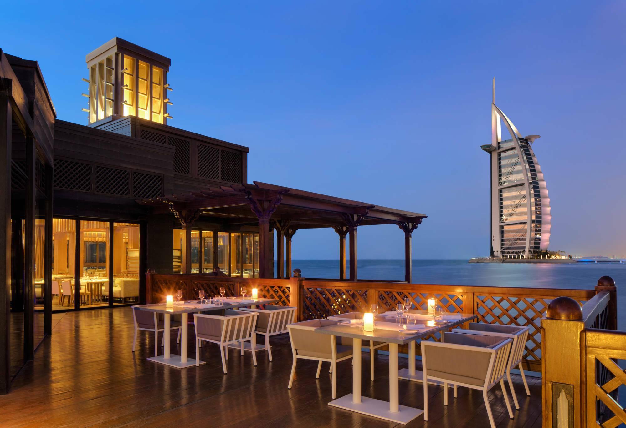 Jumeirah al Qasr Dubai restaurant pierchic