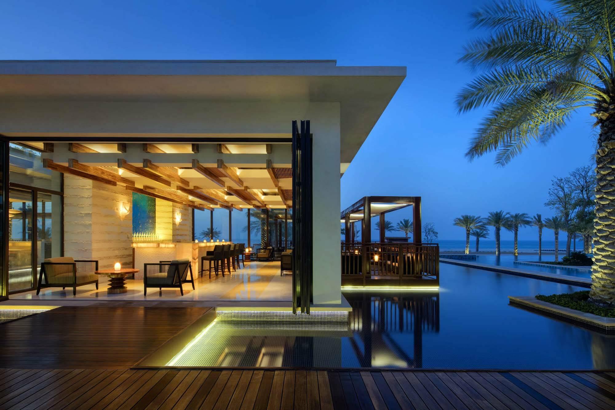 Saint Regis Saadiyat Abu Dhabi bar sontaya