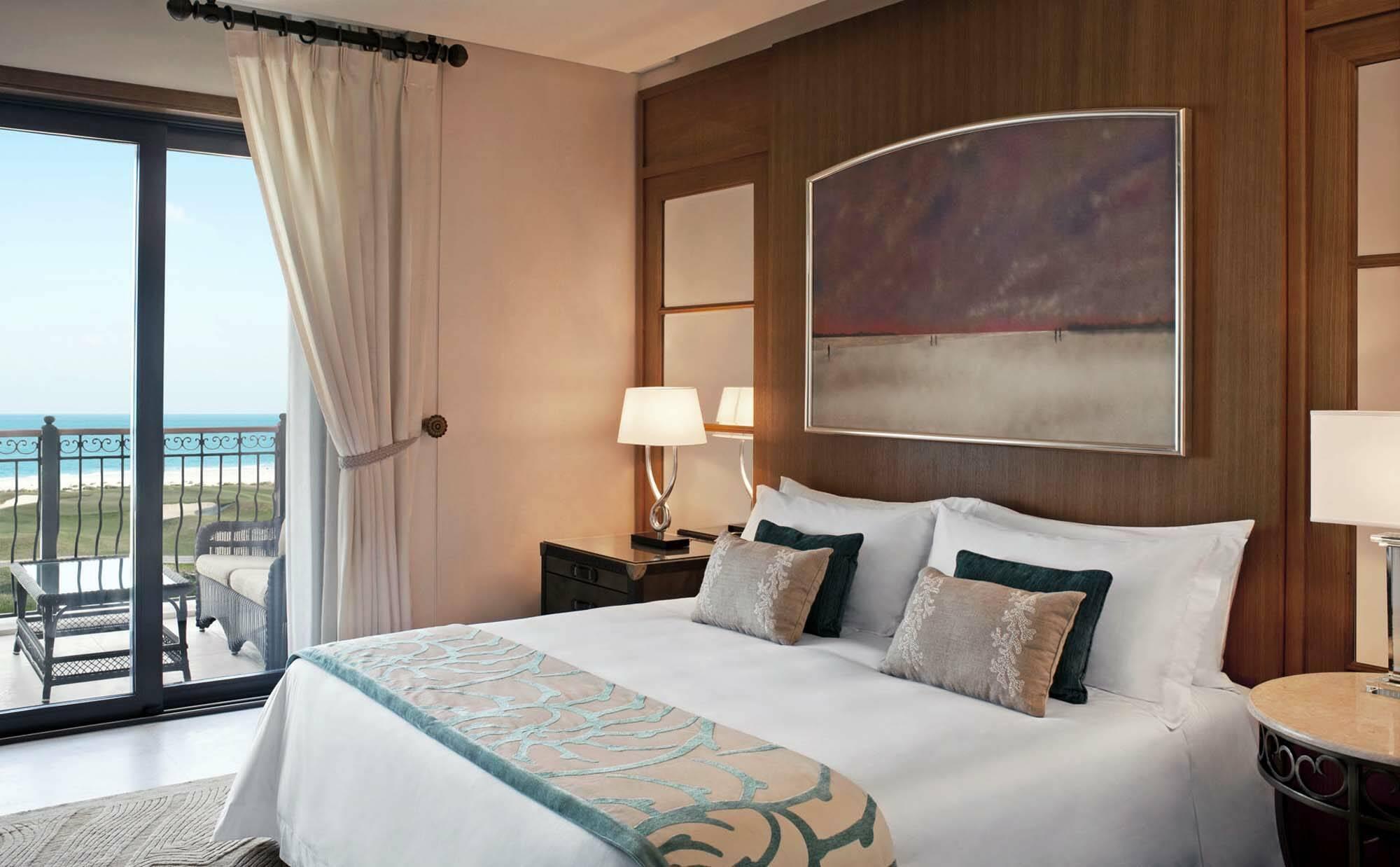 Saint Regis Saadiyat Abu Dhabi ocean suite chambre