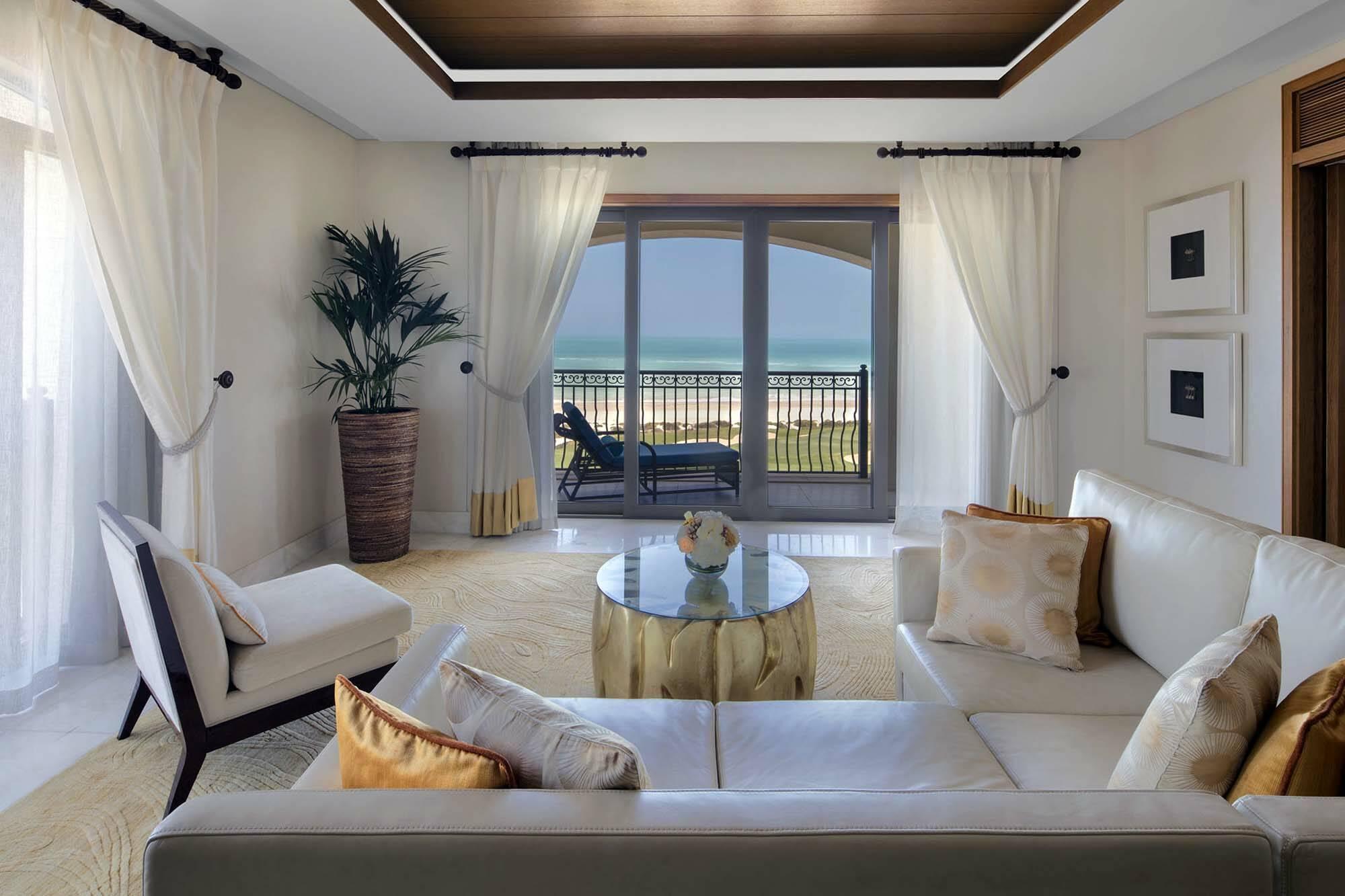 Saint Regis Saadiyat Abu Dhabi ocean suite salon