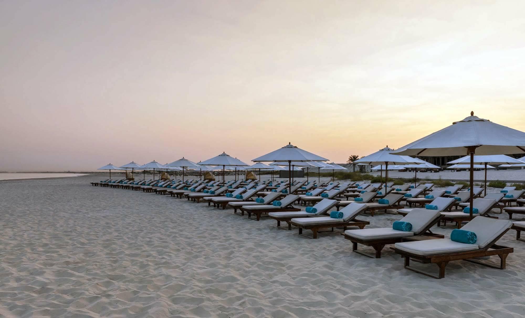 Saint Regis Saadiyat Abu Dhabi plage