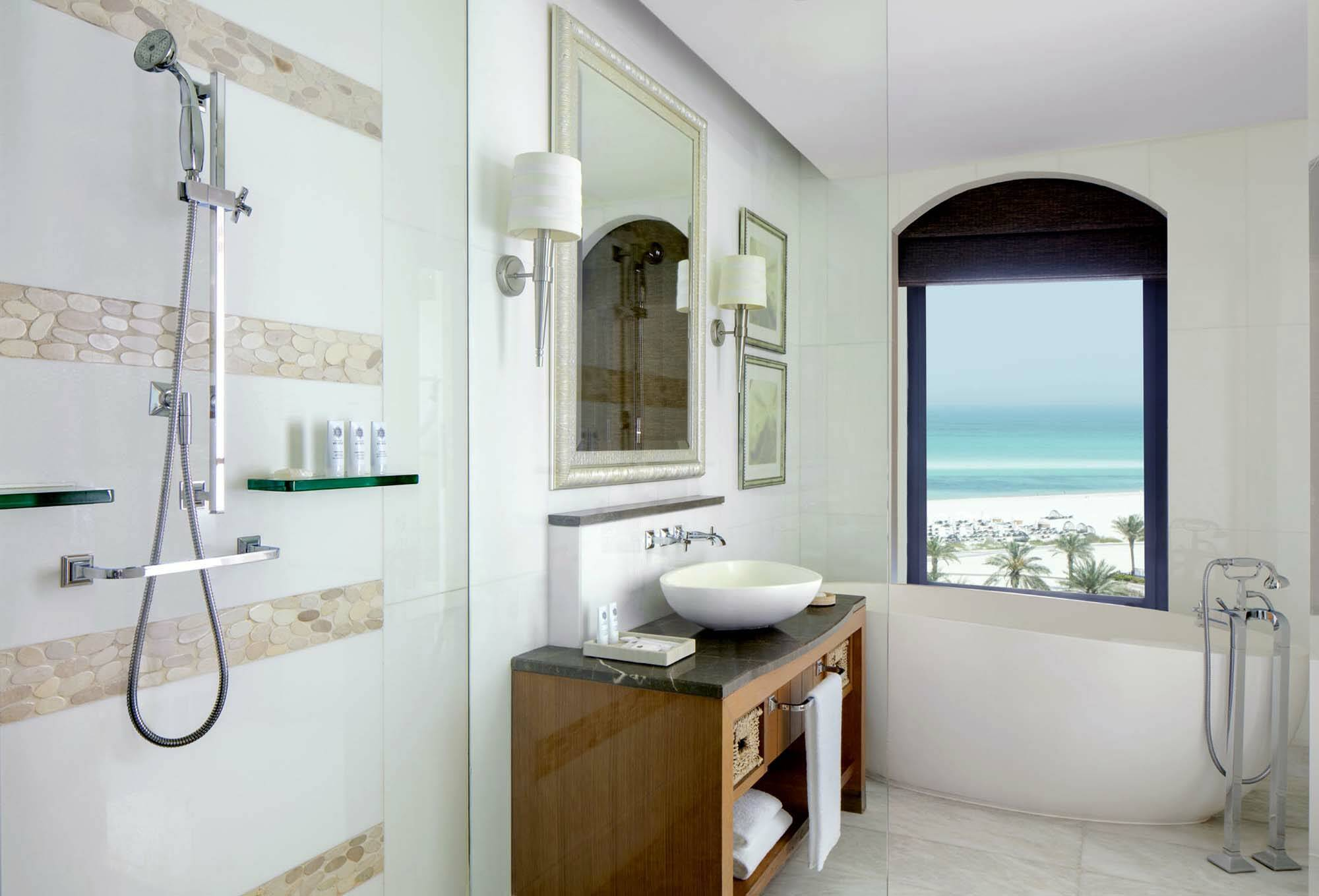 Saint Regis Saadiyat Abu Dhabi premium sea view salle de bain