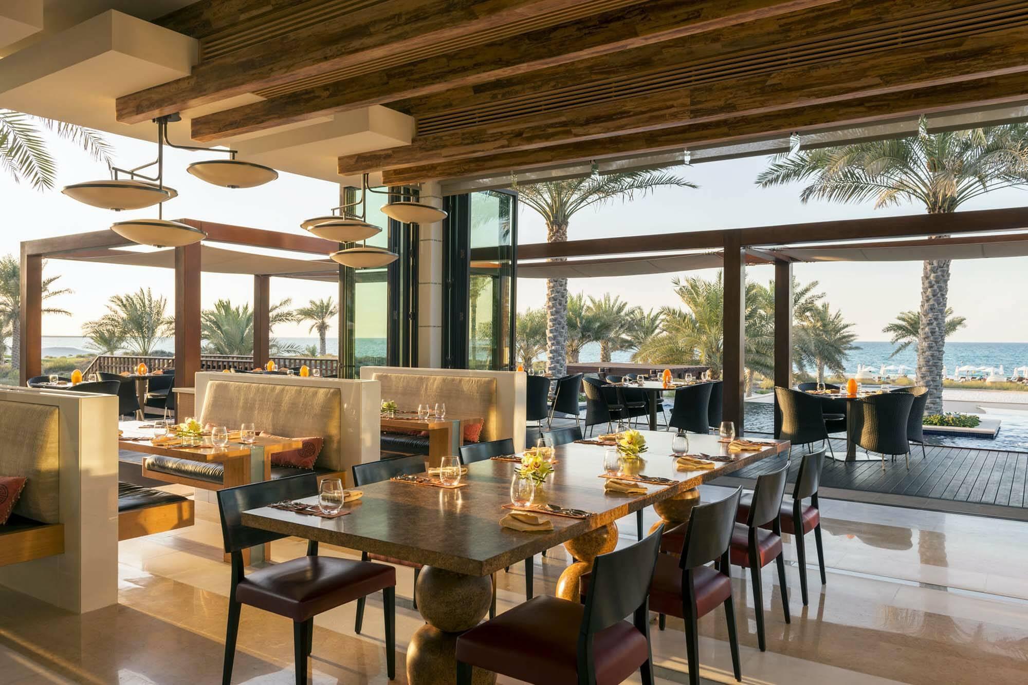 Saint Regis Saadiyat Abu Dhabi restaurant