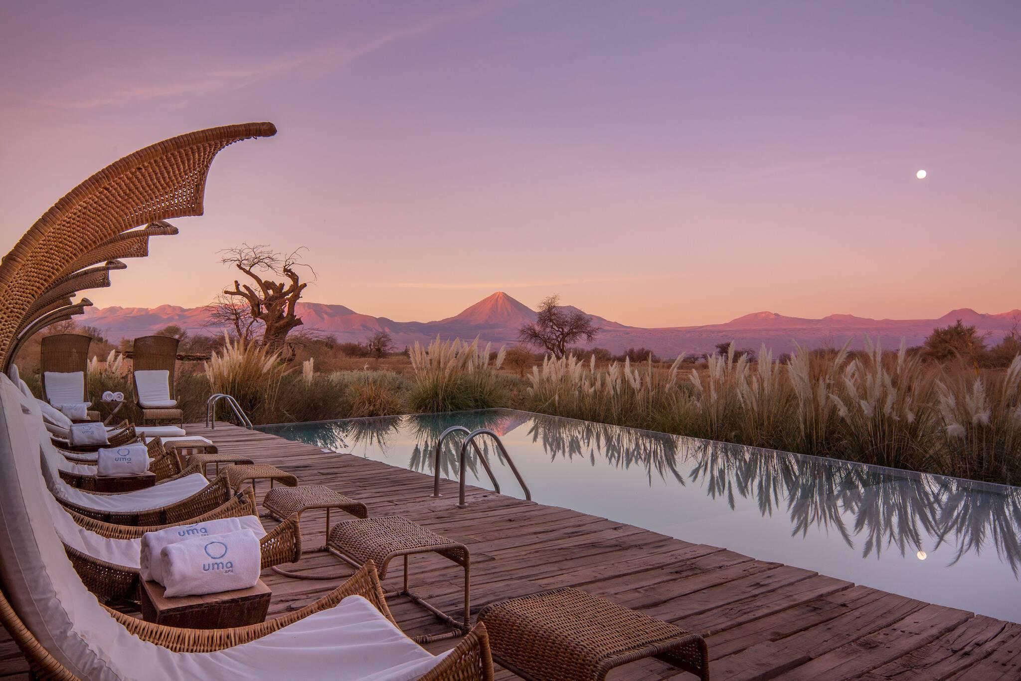 Tierra Atacama Chili piscine