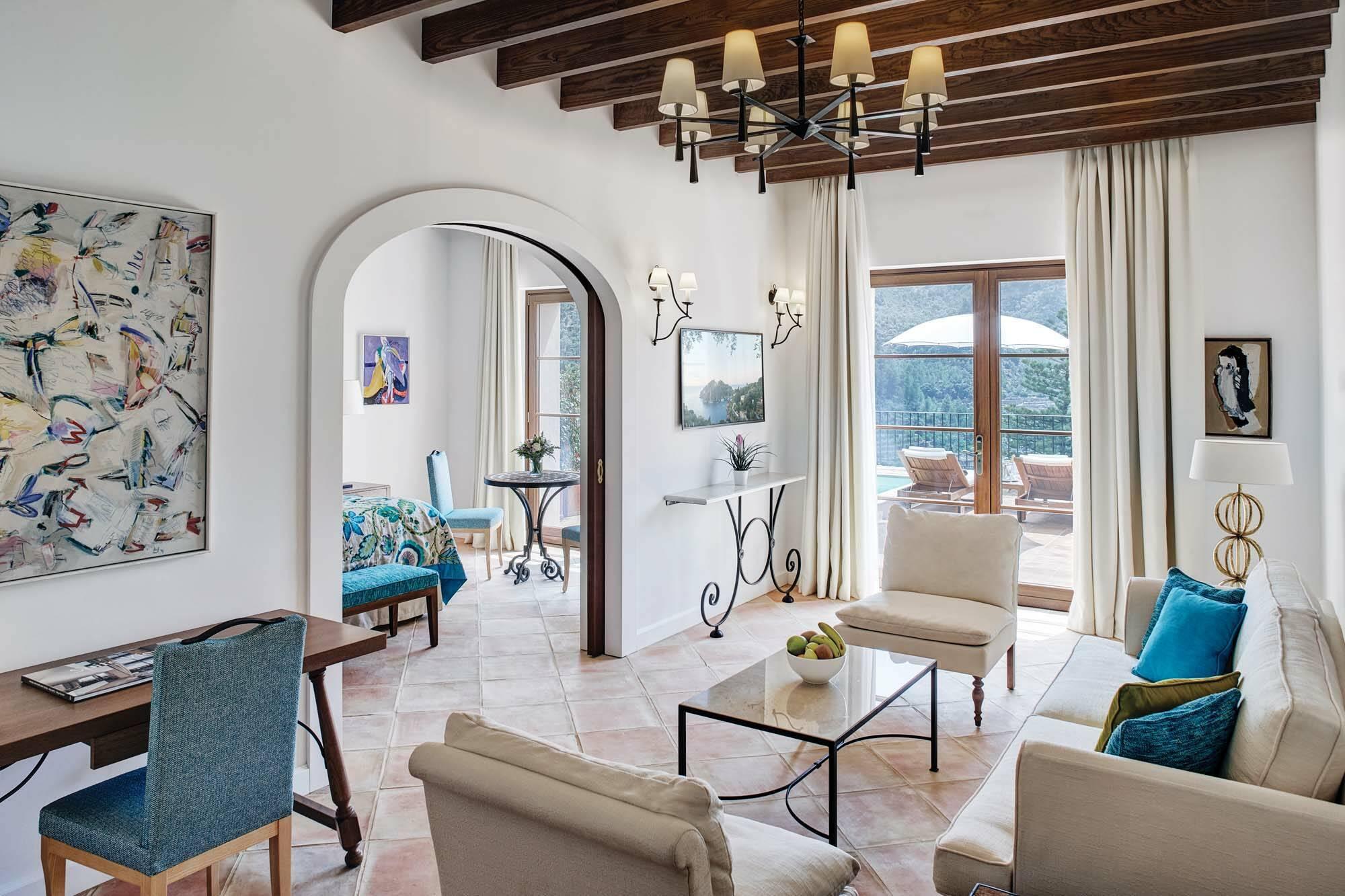 Belmond Residencia Majorque Suite Salon