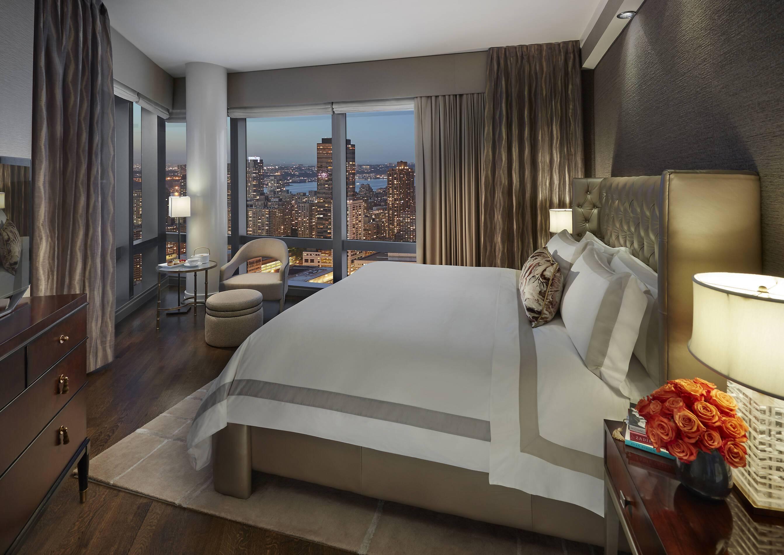 Mandarin Oriental New York suite chambre