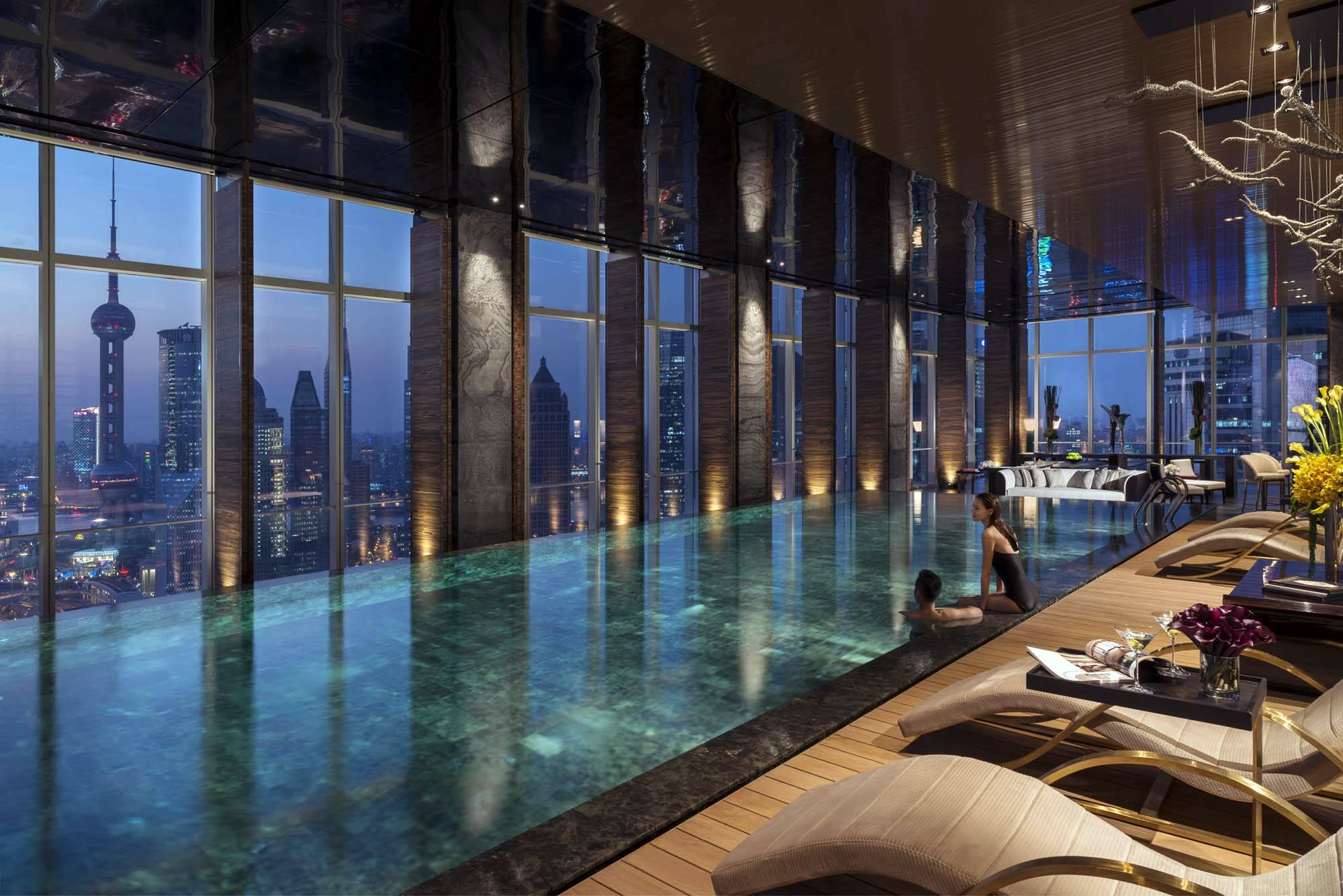 Four Seasons Piscine Shanghai Chine