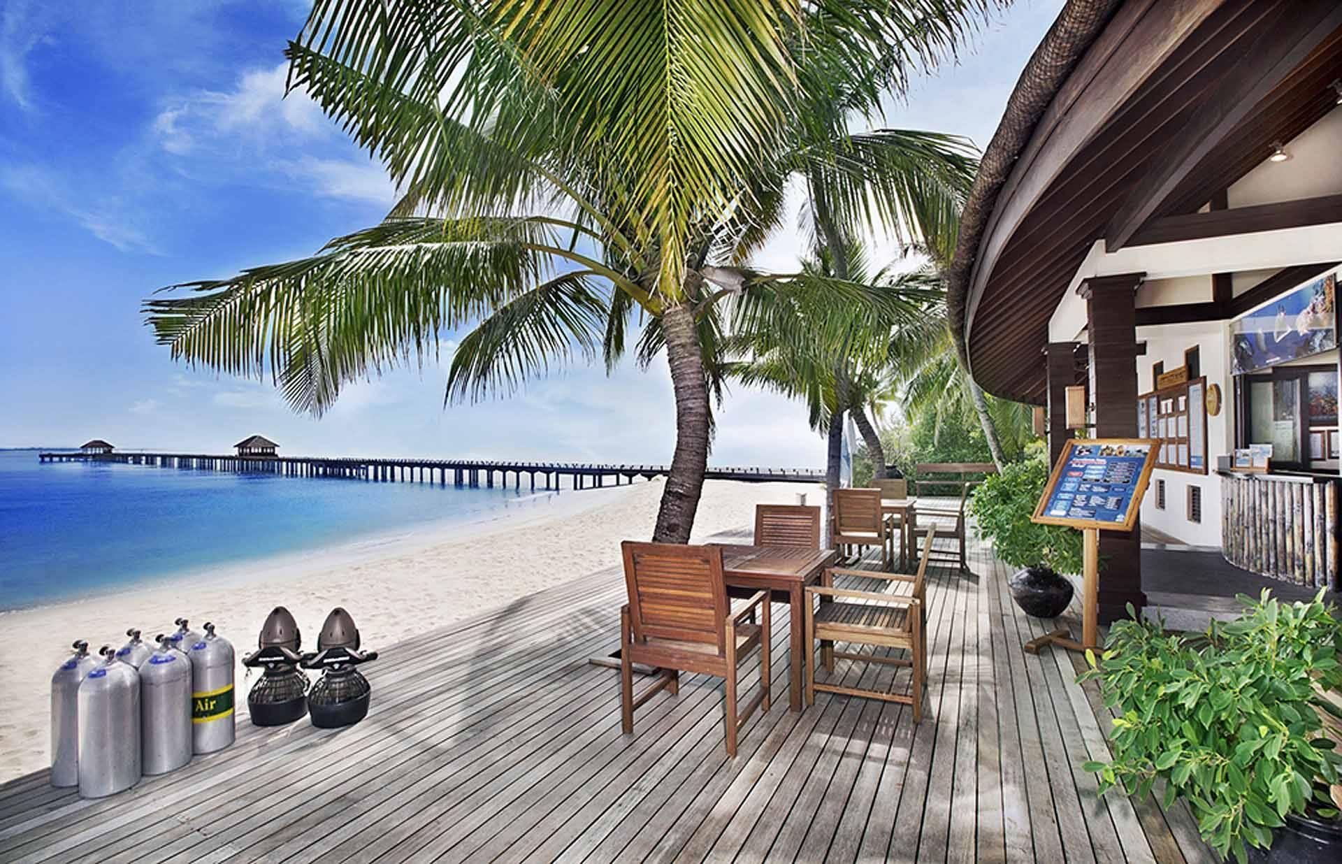 JA Manafaru Centre Plongee Maldives