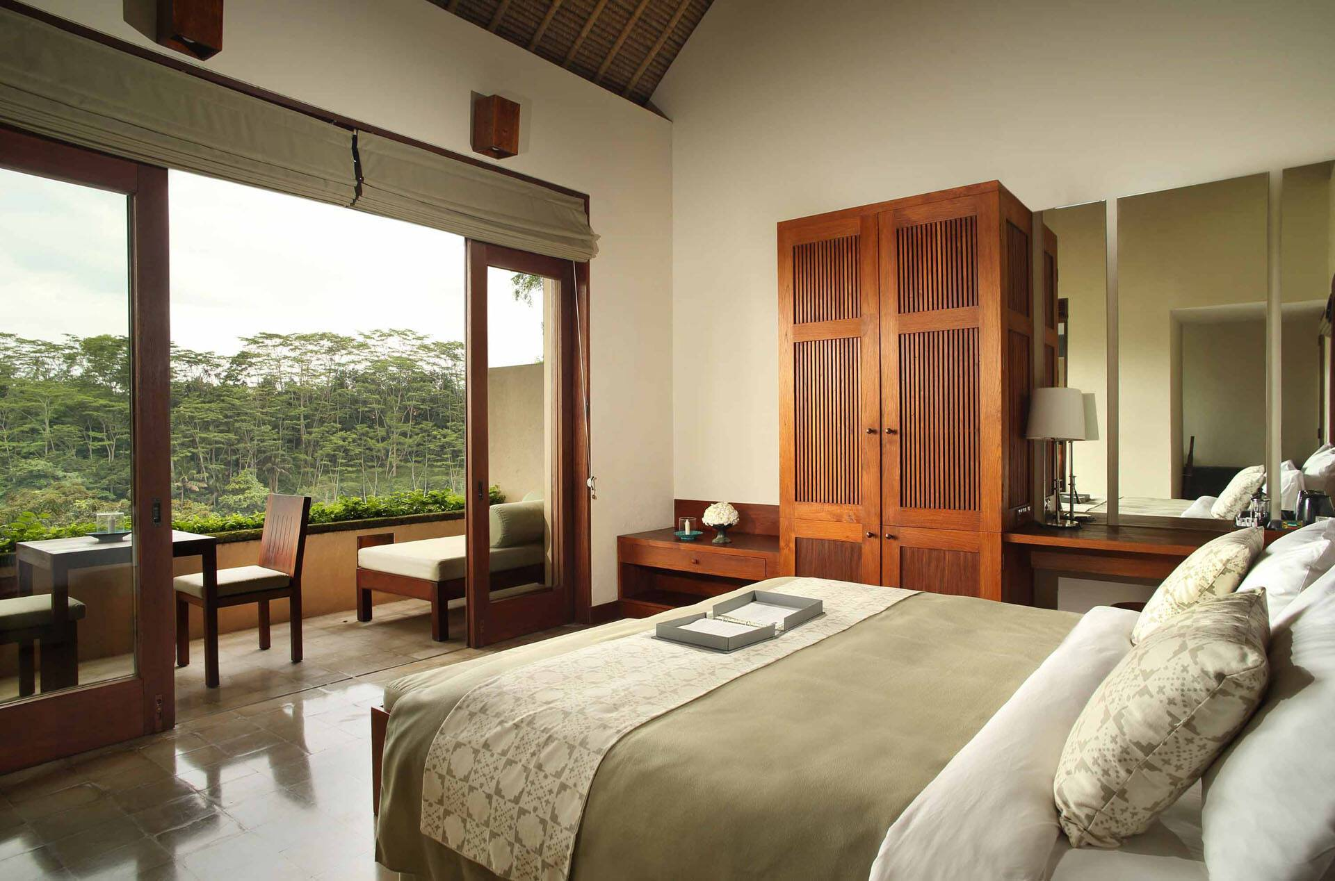 Alila Ubud Bali Chambre