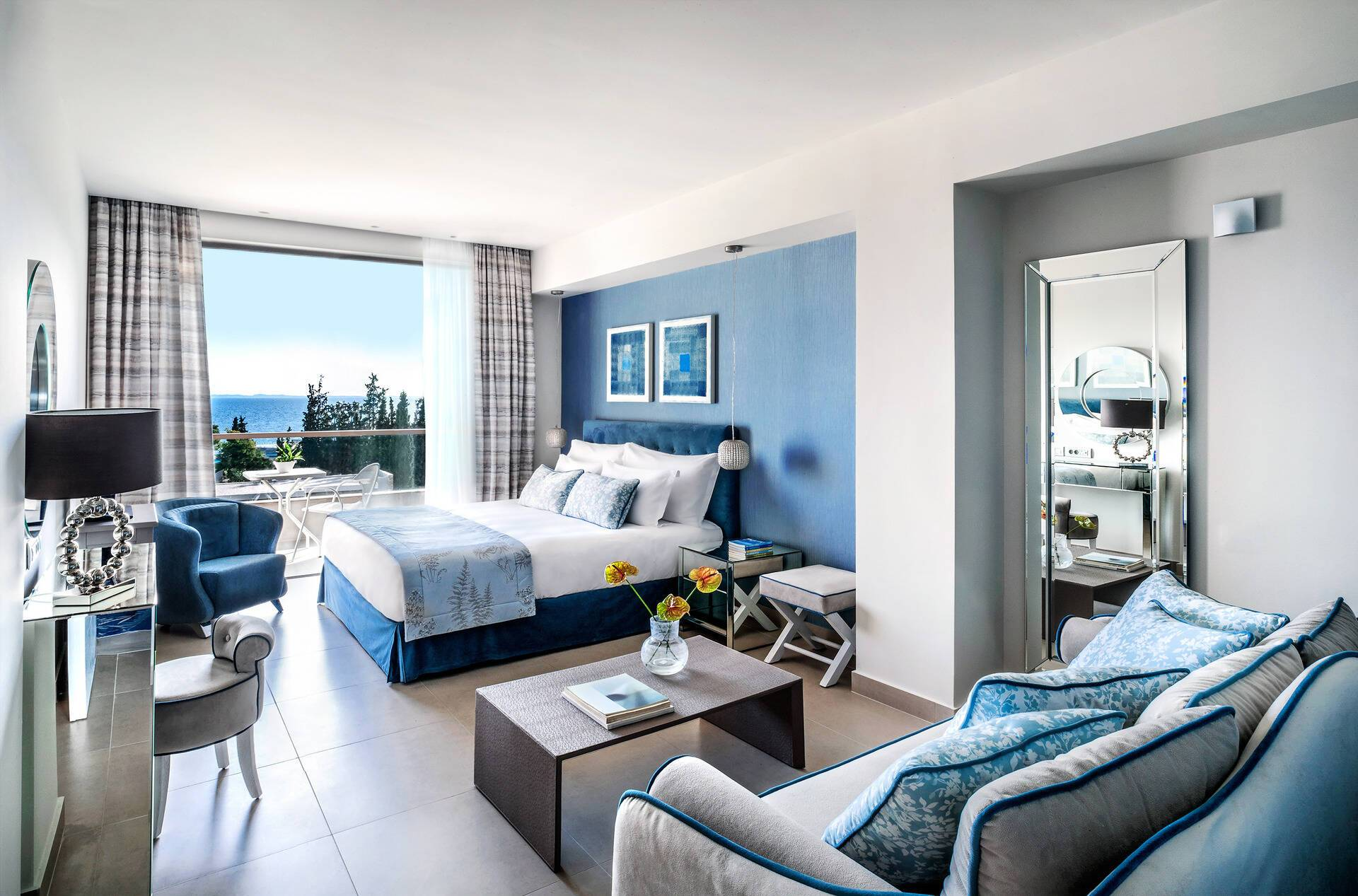 IKos Oceania Superior Double Room Seaview Grece