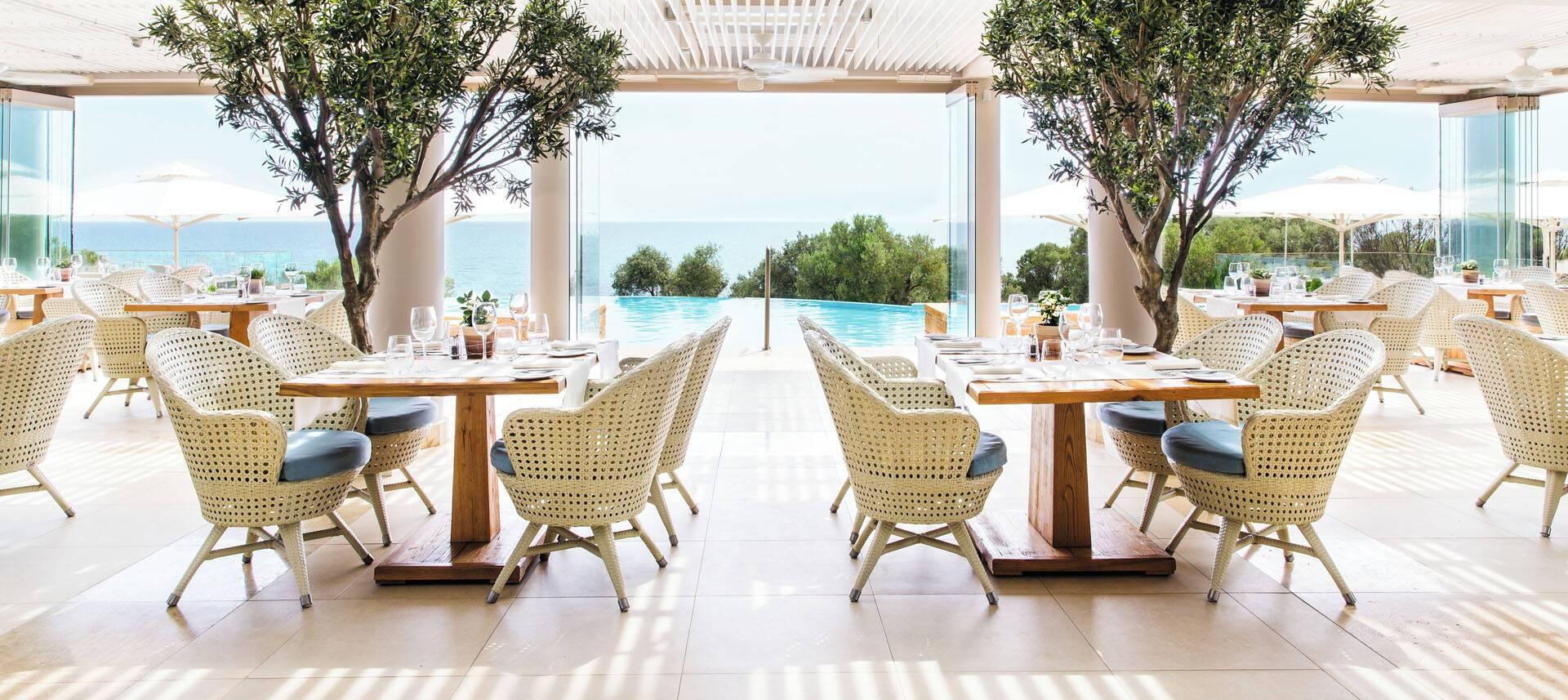 Ikos Oceania Thessalonique Grece Provence Restaurant