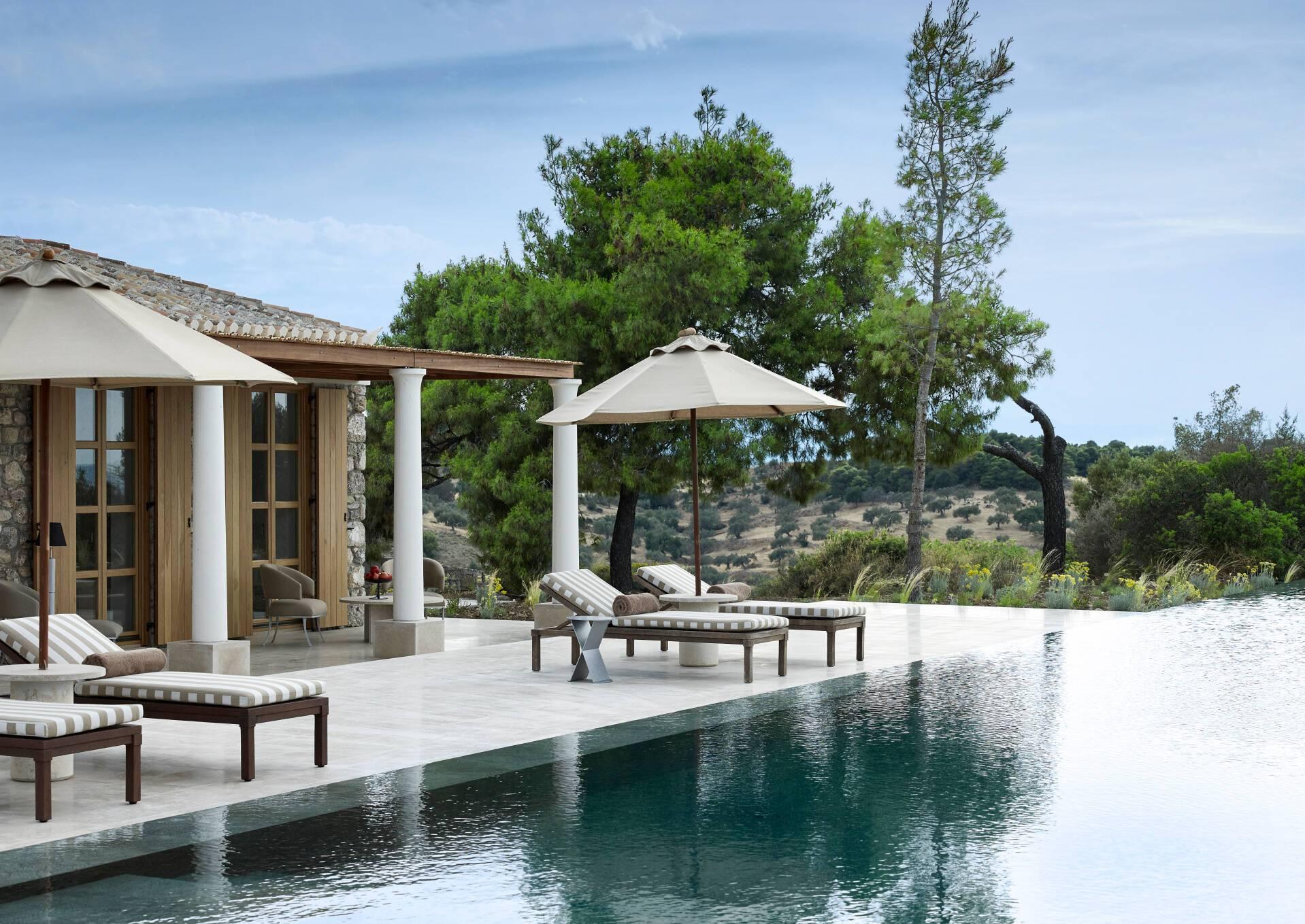 Amanzoe Villa 31 Piscine Grece Peloponnese