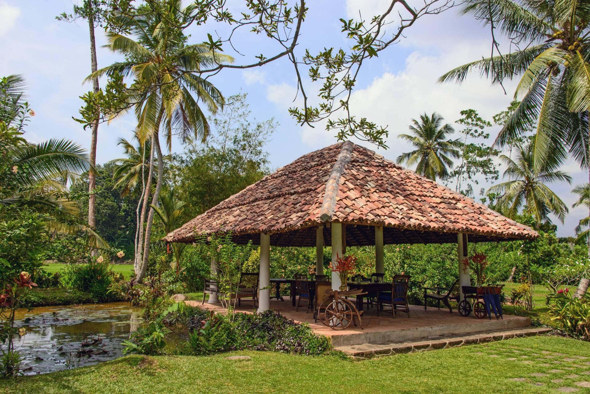 Amangalla Sri Lanka Jardin