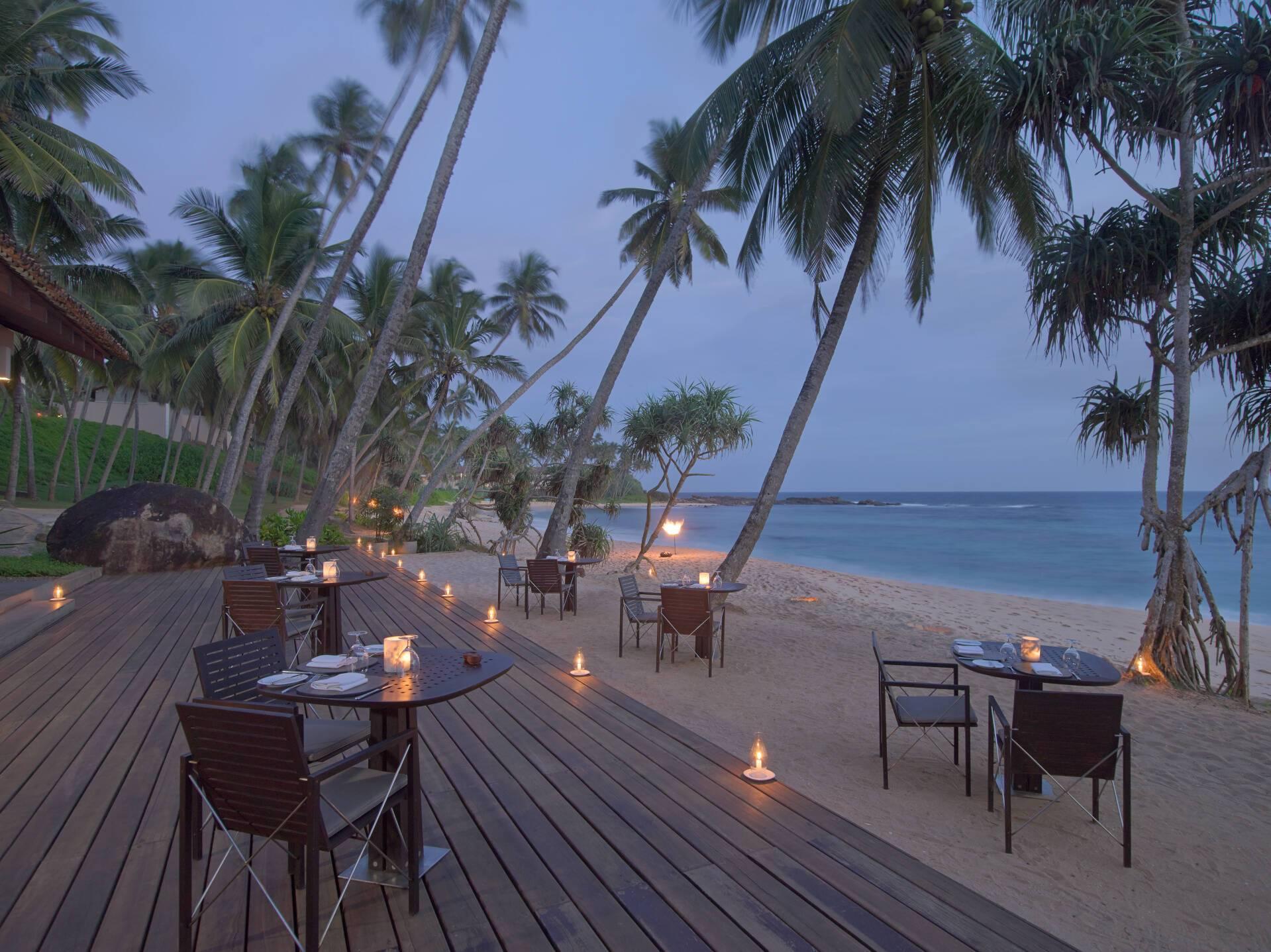 Amanwella Sri Lanka Coucher Soleil