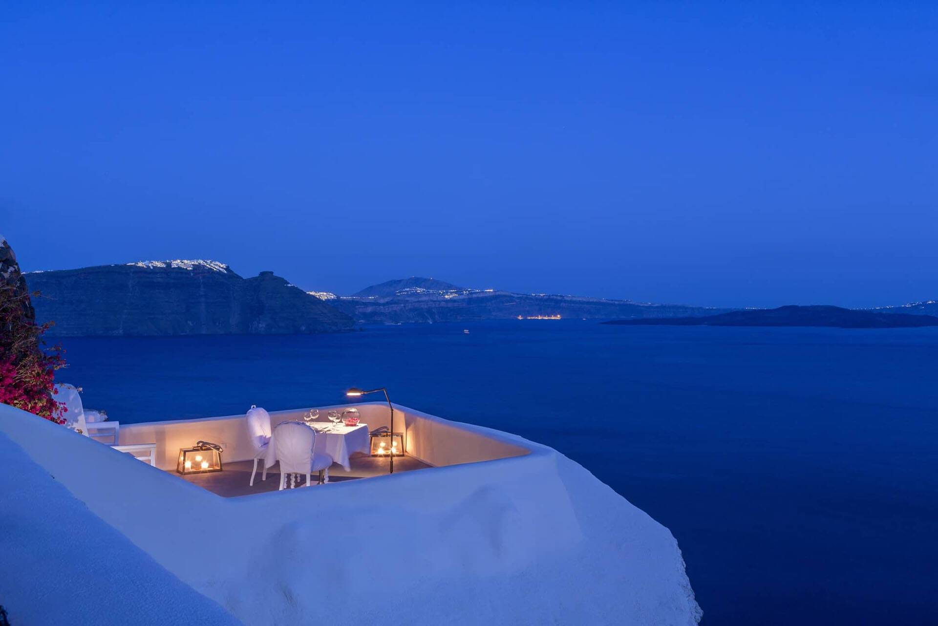 Canaves Oia Suites Santorin Panorama Balcony