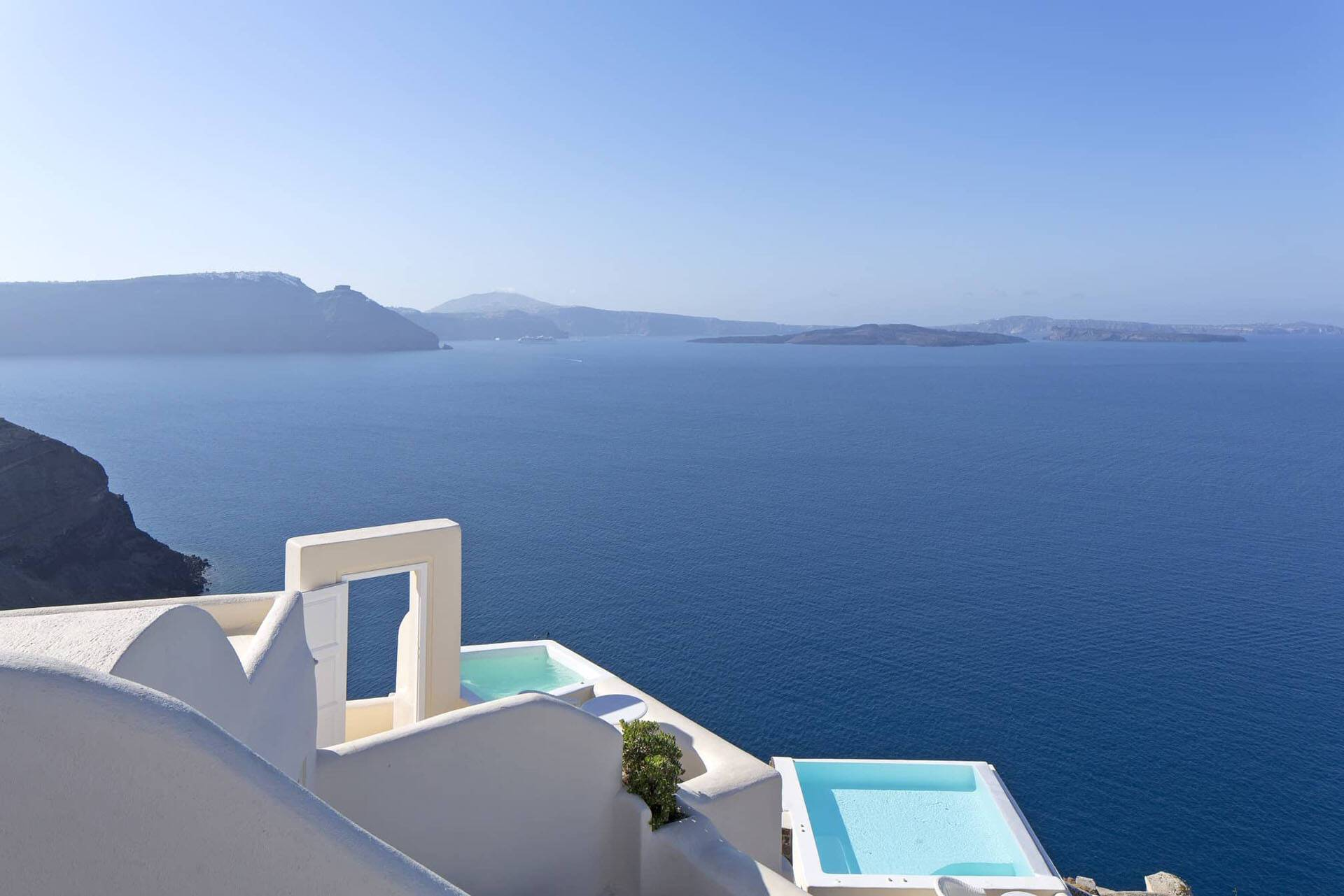 Canaves Oia Suites Santorin Views