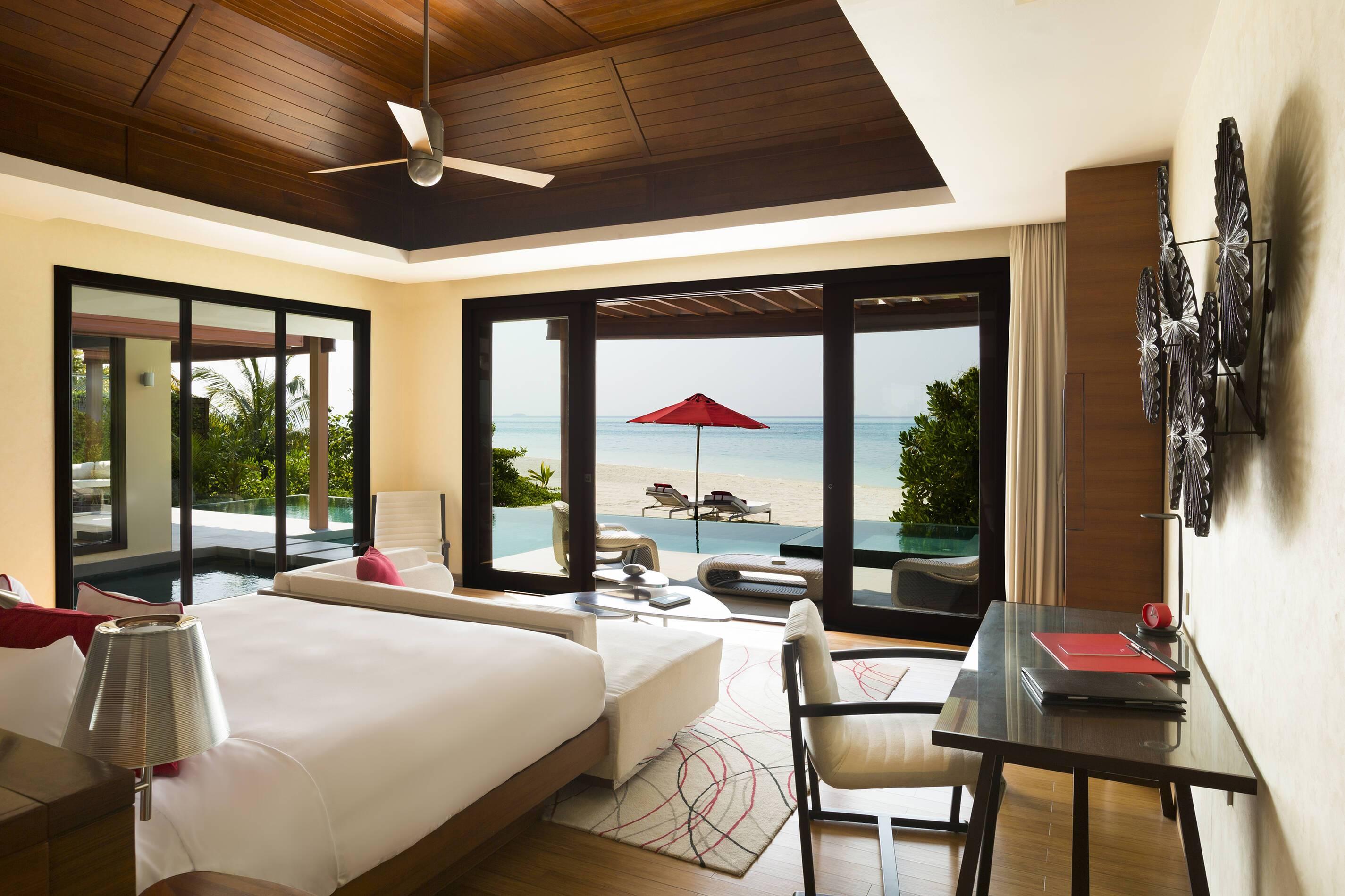 Niyama Maldives Beach Pavillon Chambre
