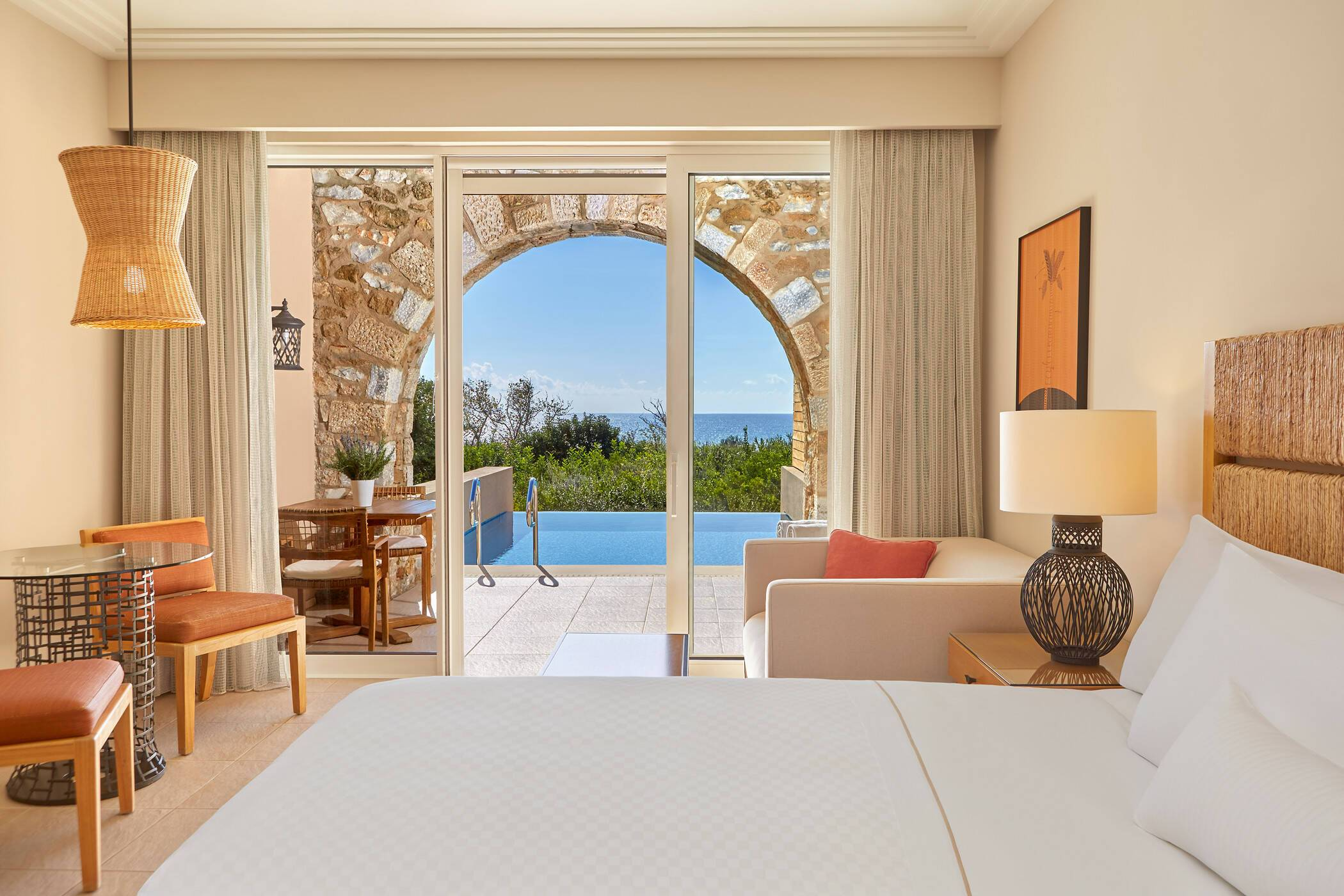 Costa Navarino Peloponnese Infinity Room
