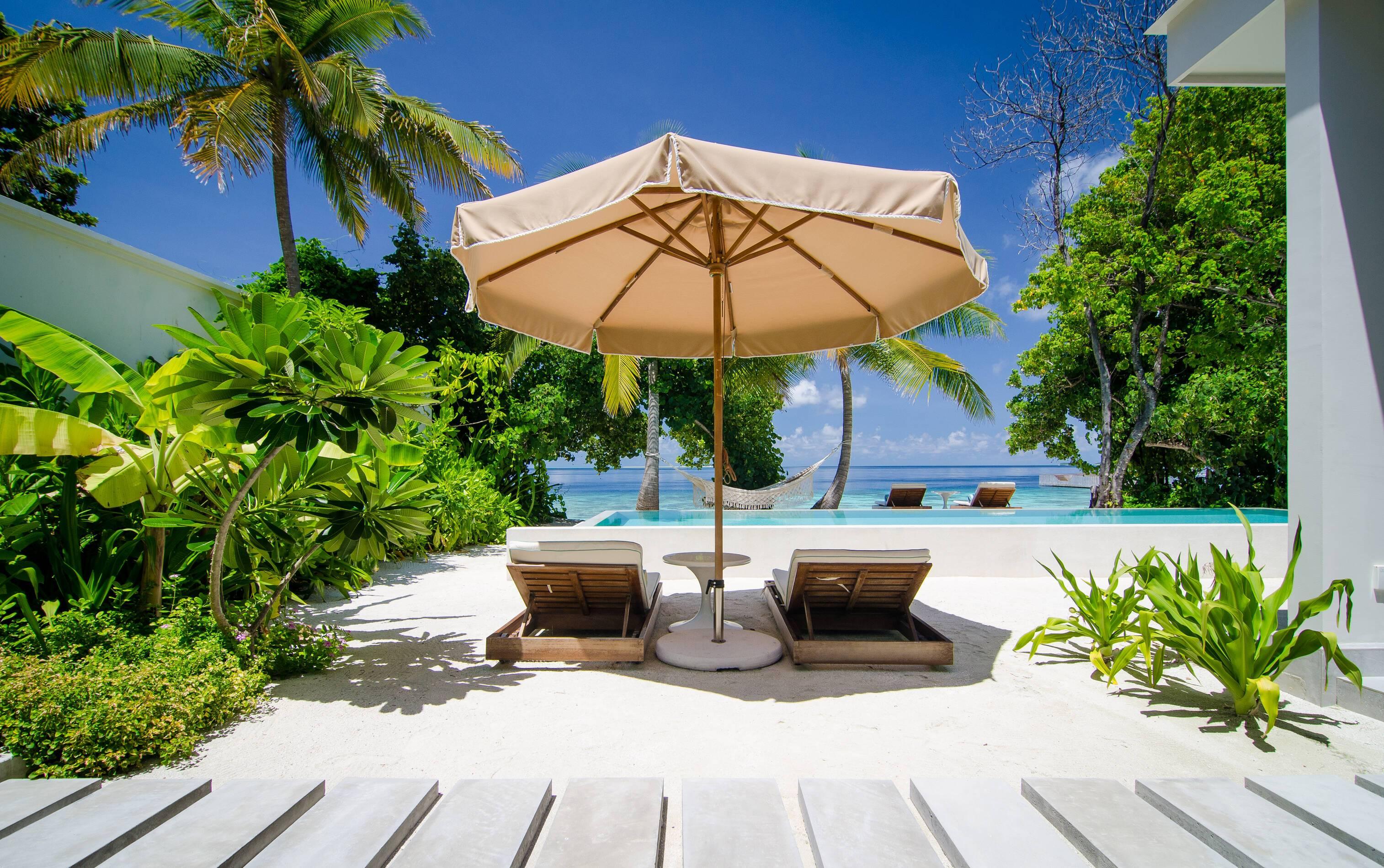Amilla Maldives Resort Beach House Piscine