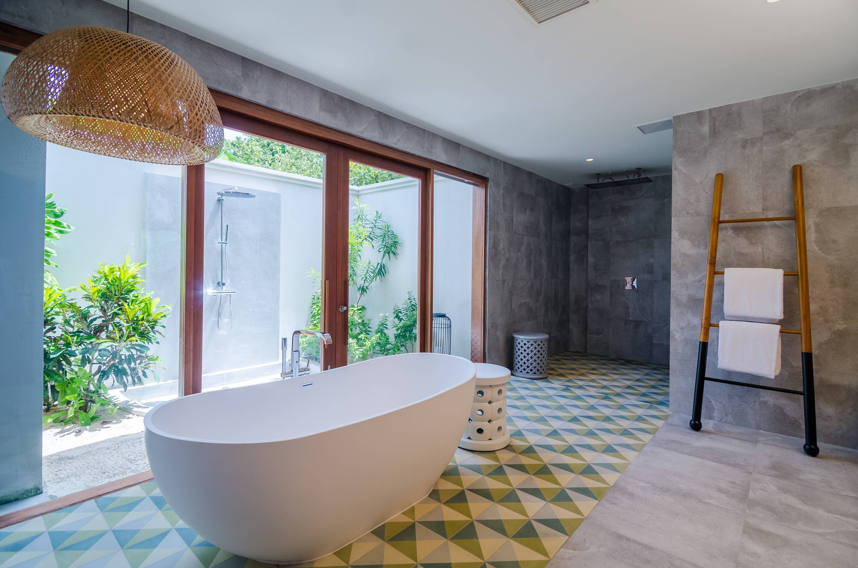 Amilla Maldives Resort Beach House Salle Bains