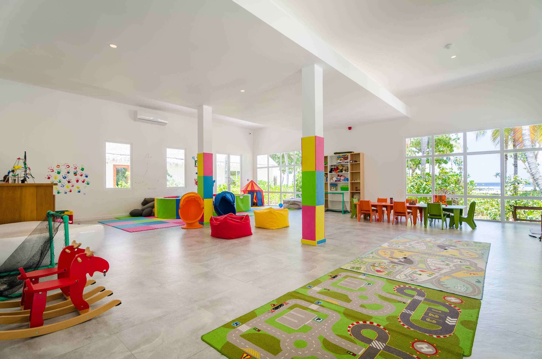 Amilla Maldives Resort Kids Club Interieur