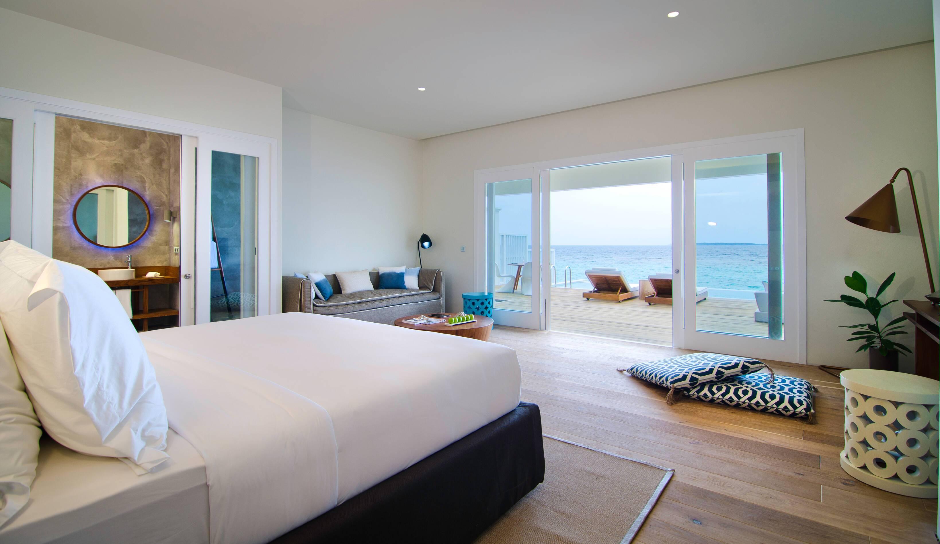 Amilla Maldives Resort Lagoon House Chambre