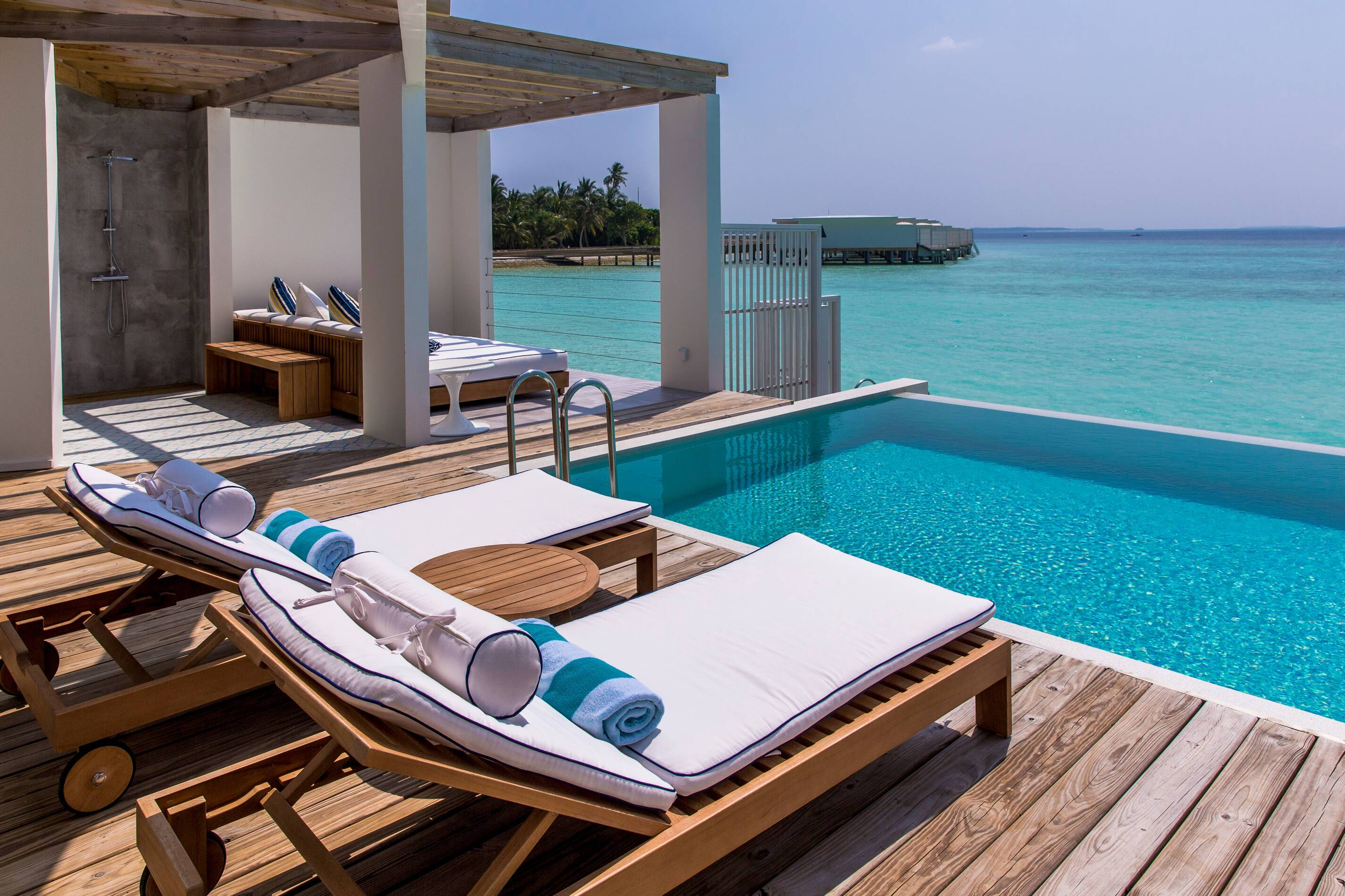 Amilla Maldives Resort Lagoon House Piscine