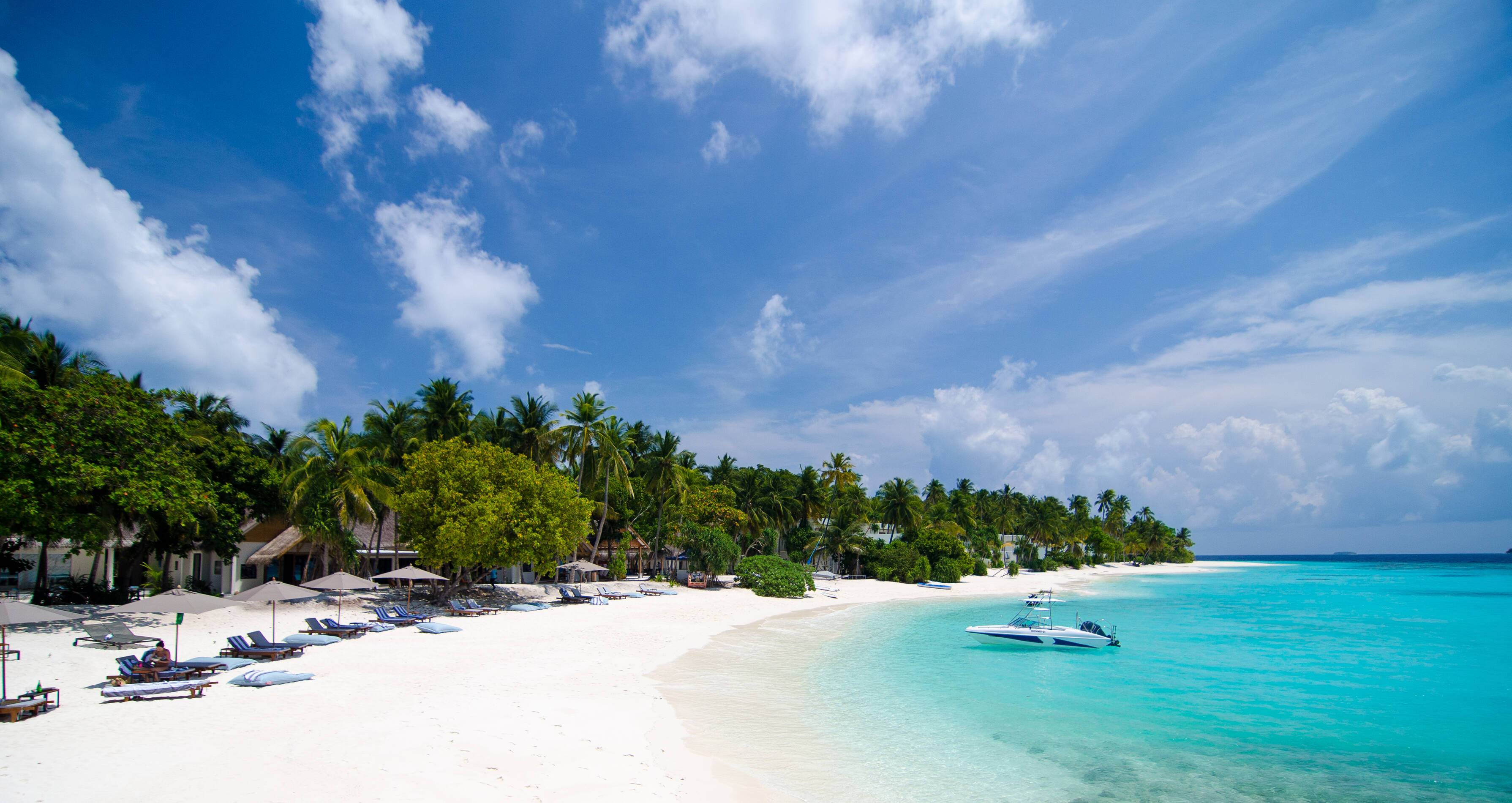 Amilla Maldives Resort Plage