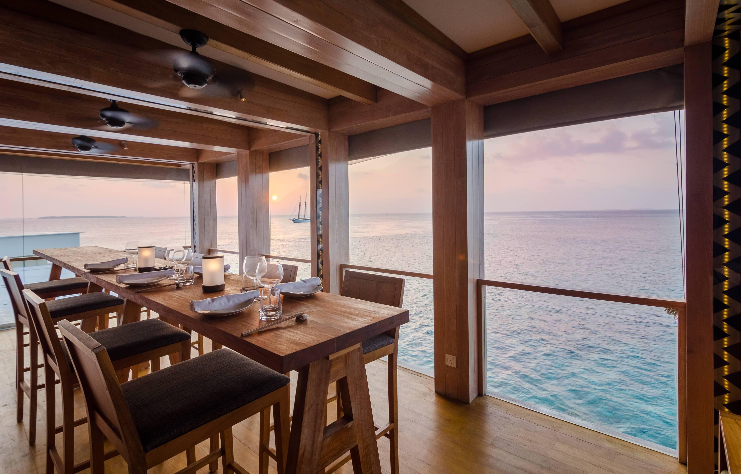 Amilla Maldives Resort Restaurant