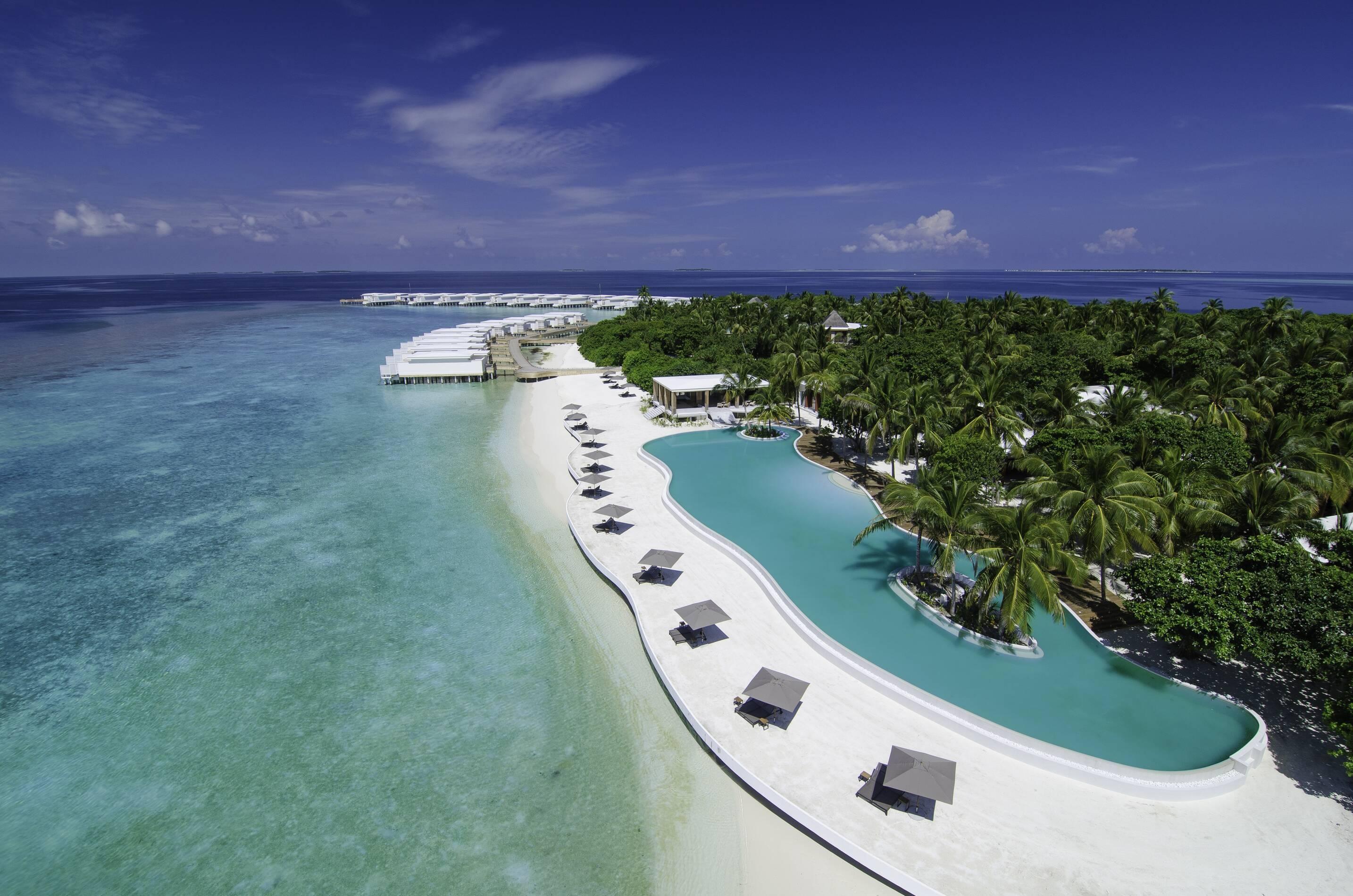 Amilla Maldives Resort Vue