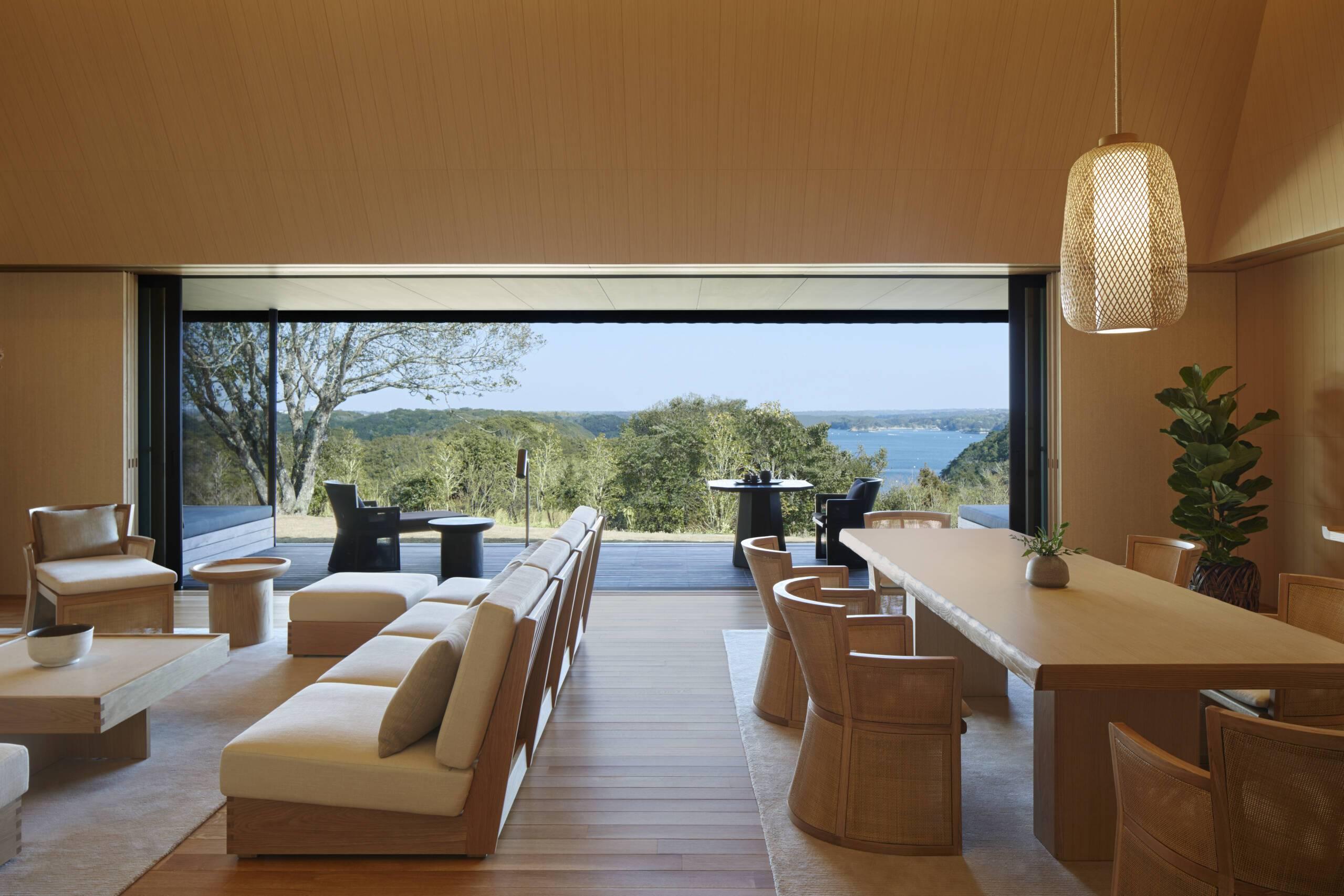Amanemu Sora Villa Living Combine Japon
