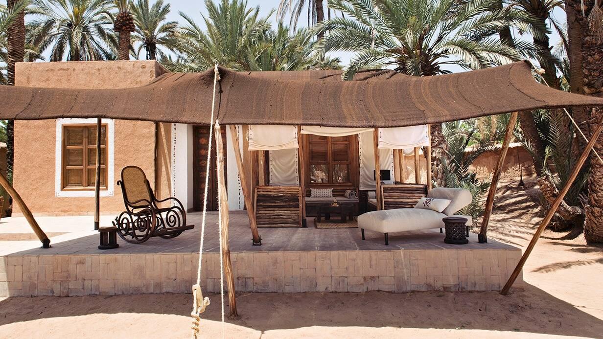 Maison Oasis Tighmert Sud Maroc Terrasse
