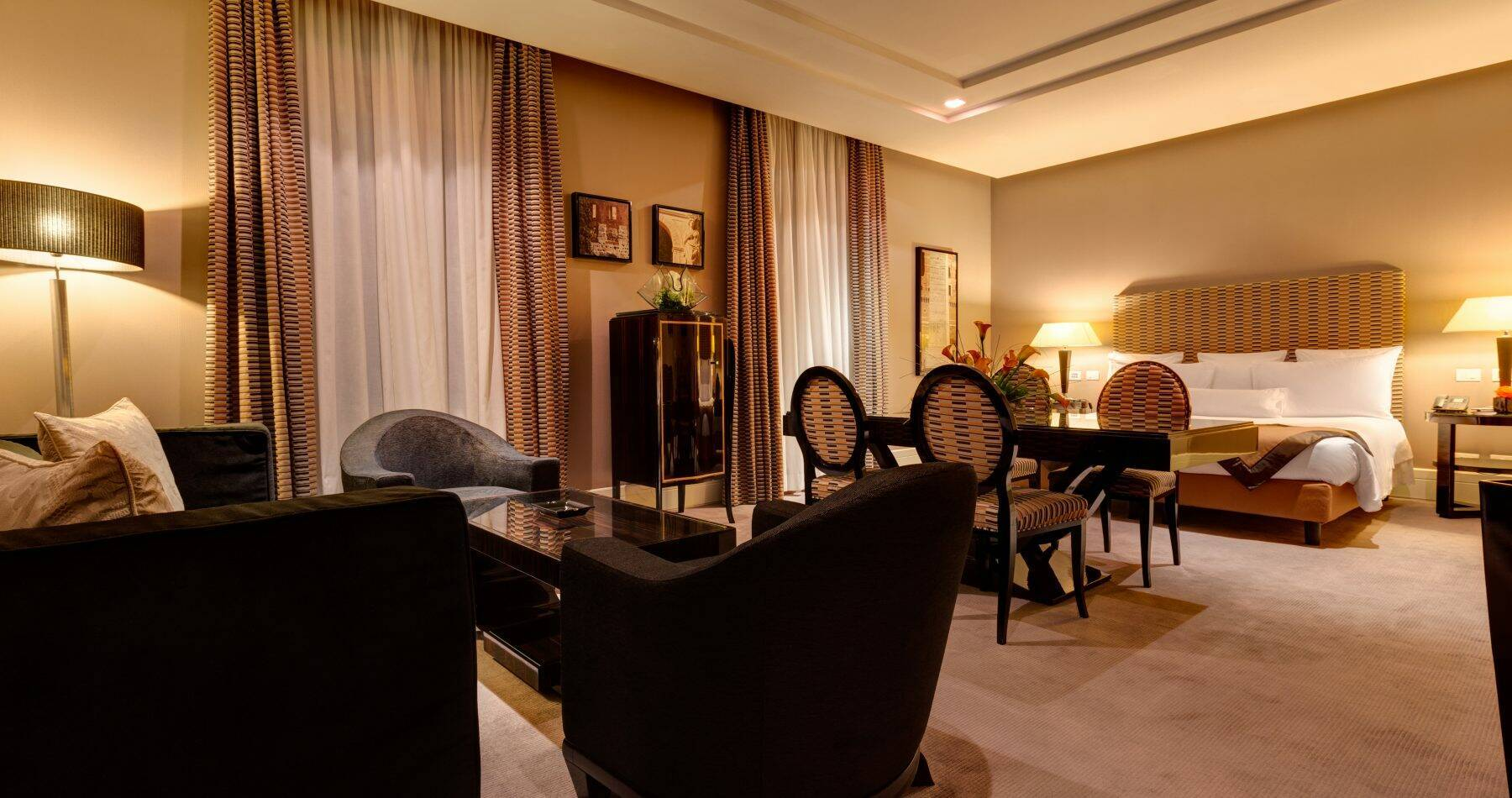 Grand Hotel Via Veneto Open Suite Chambre Rome Italie