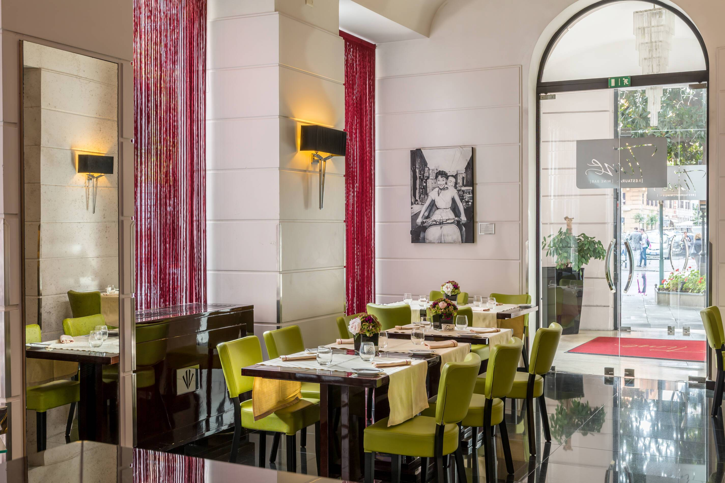 Grand Hotel Via Veneto Rome Italie Restaurant Time