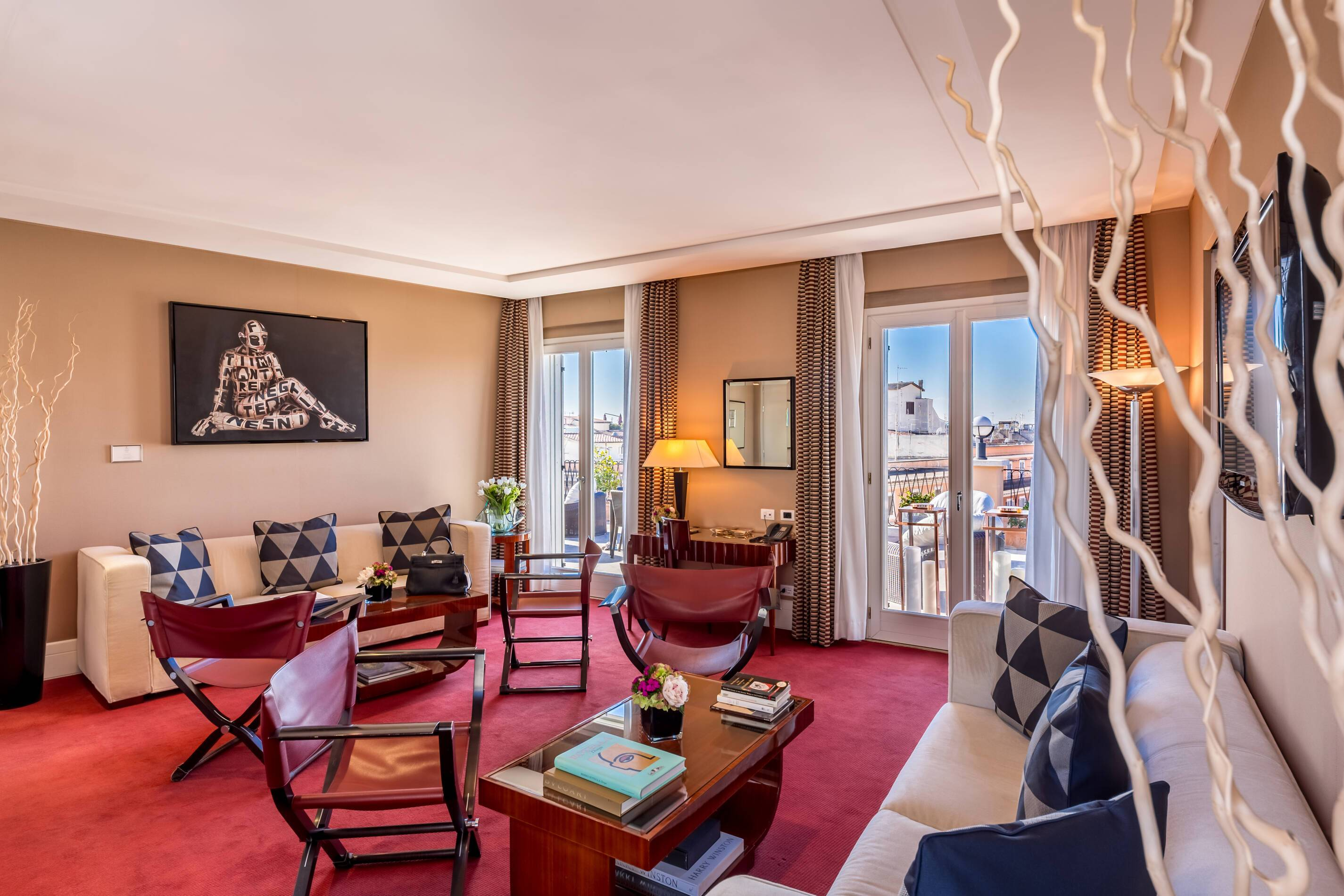 Grand Hotel Via Veneto Rome Italie Royal Suite