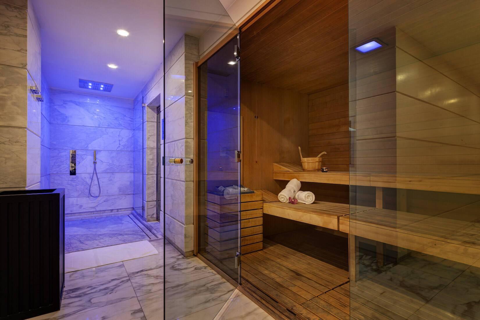 Grand Hotel Via Veneto Rome Italie Sauna