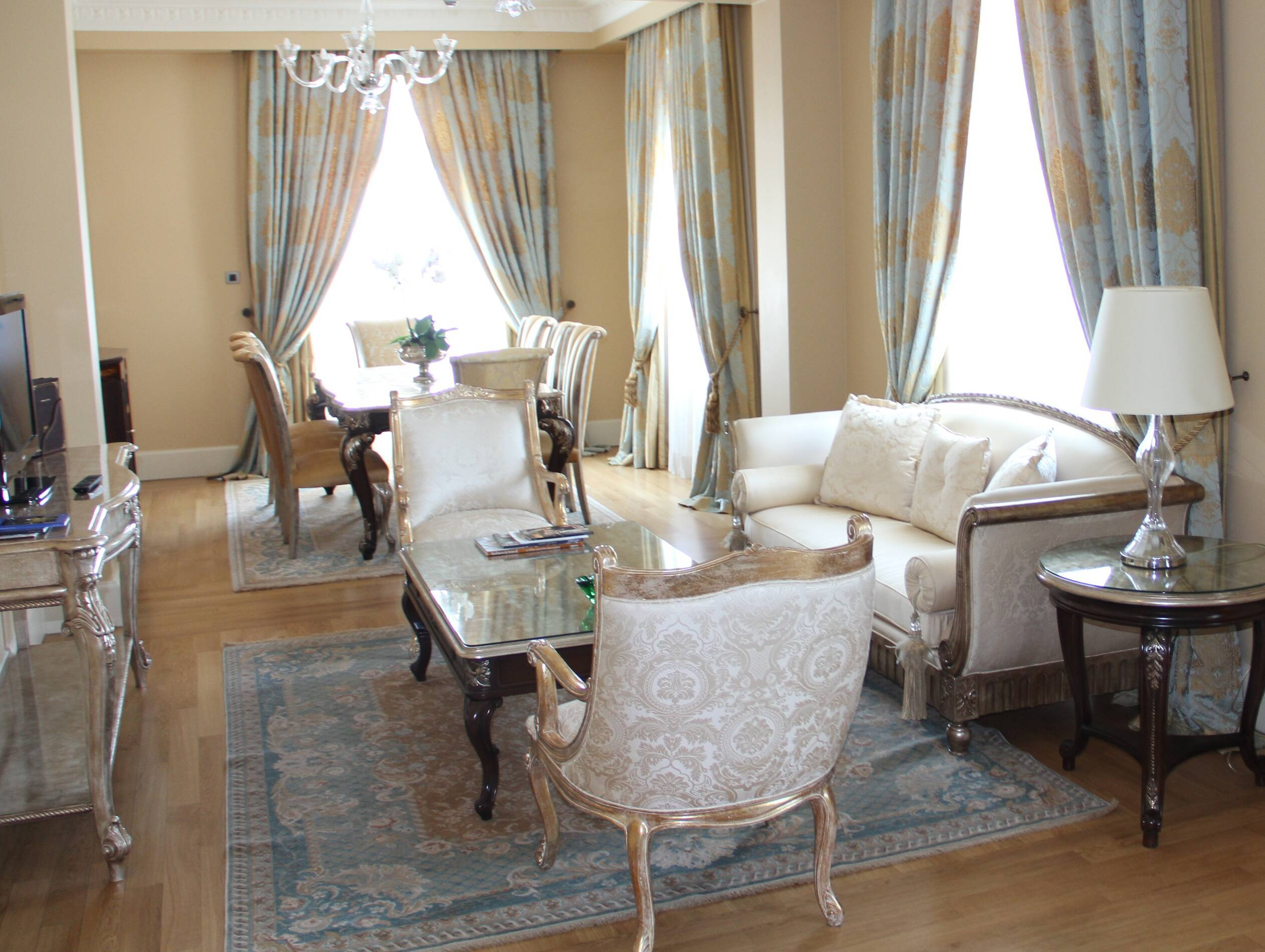 Pera Palace Presidential Suite Living Istambul