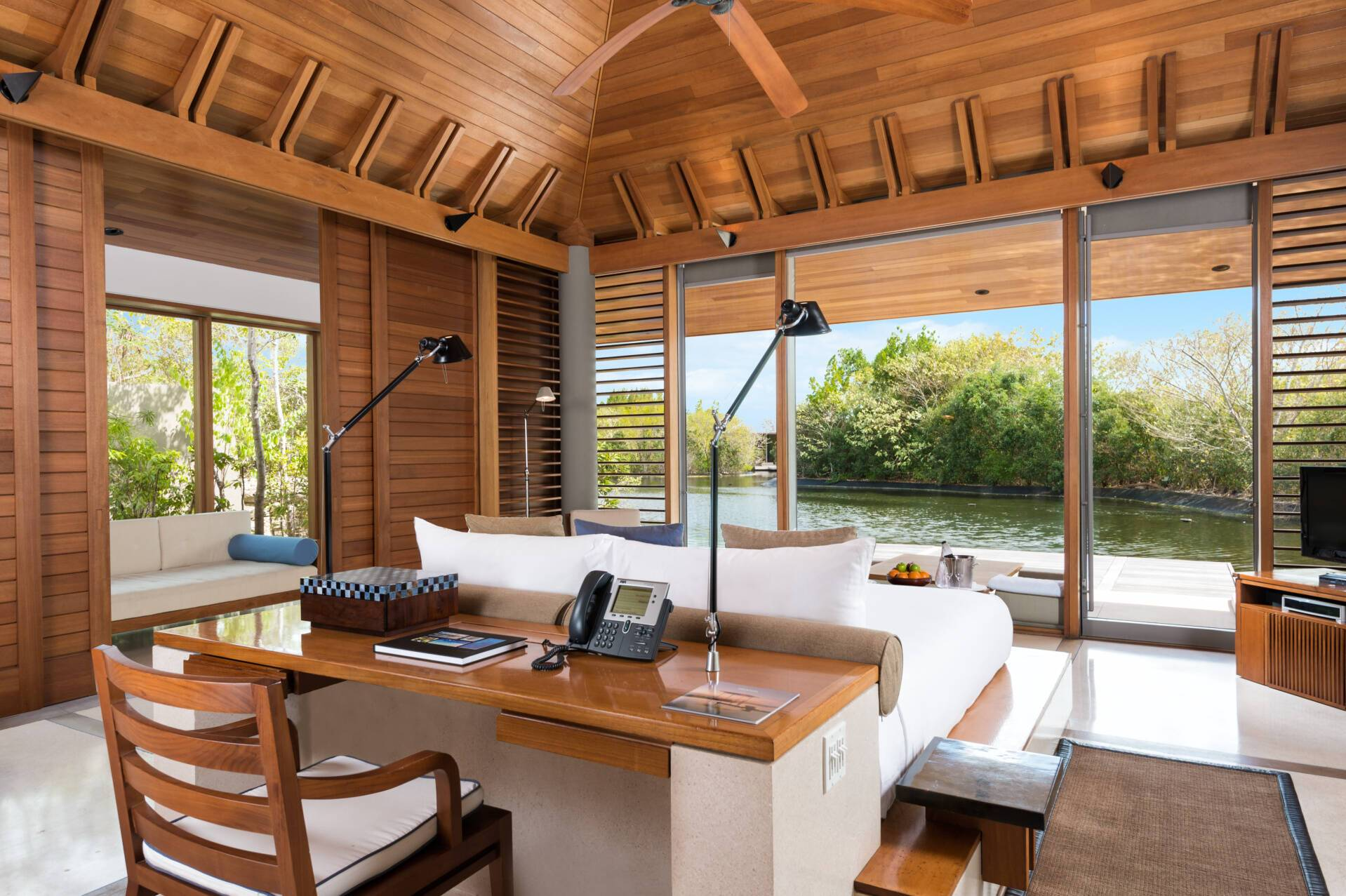 Amanyara Pavilion Chambre Turks et Caicos