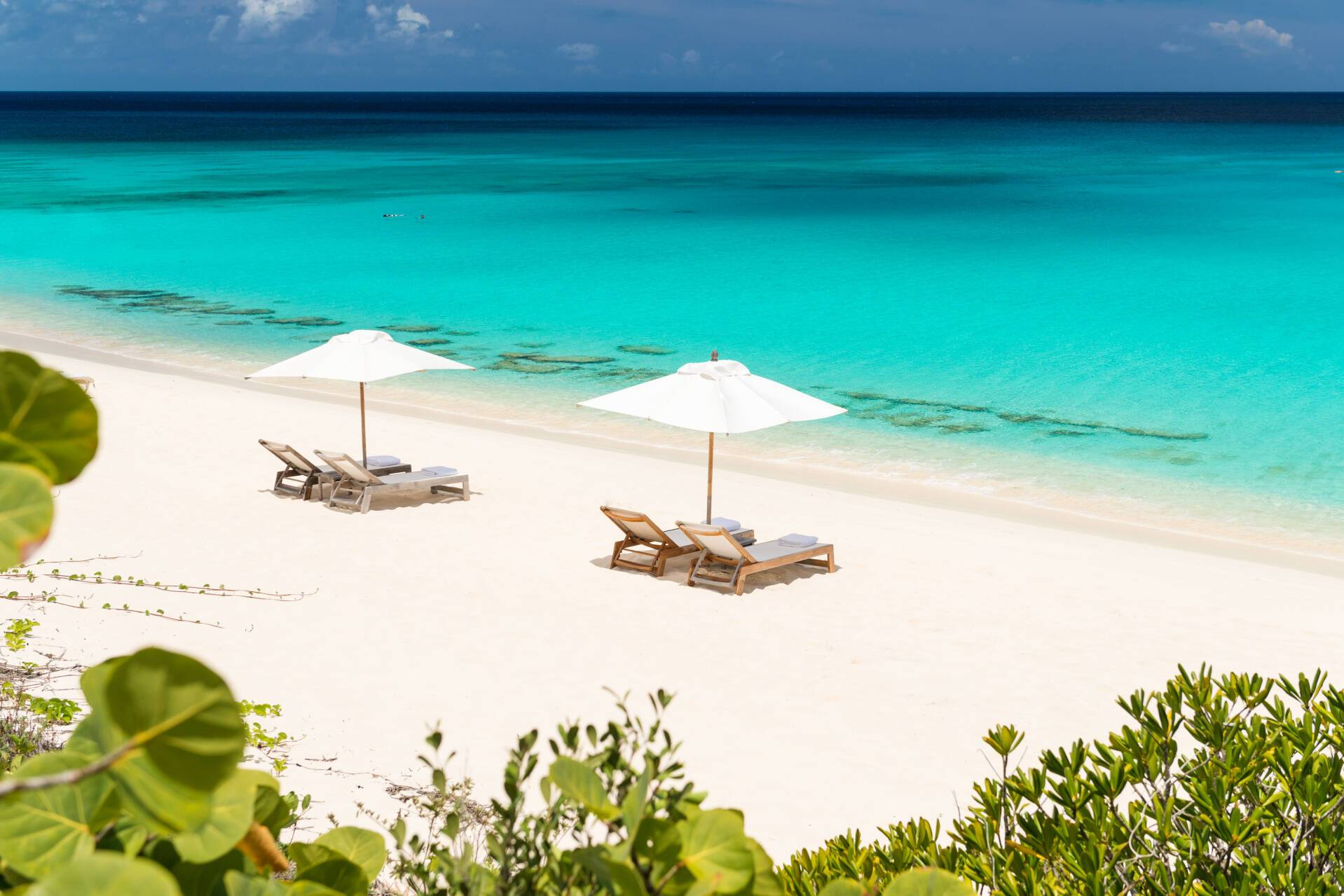 Amanyara Plage Turks et Caicos