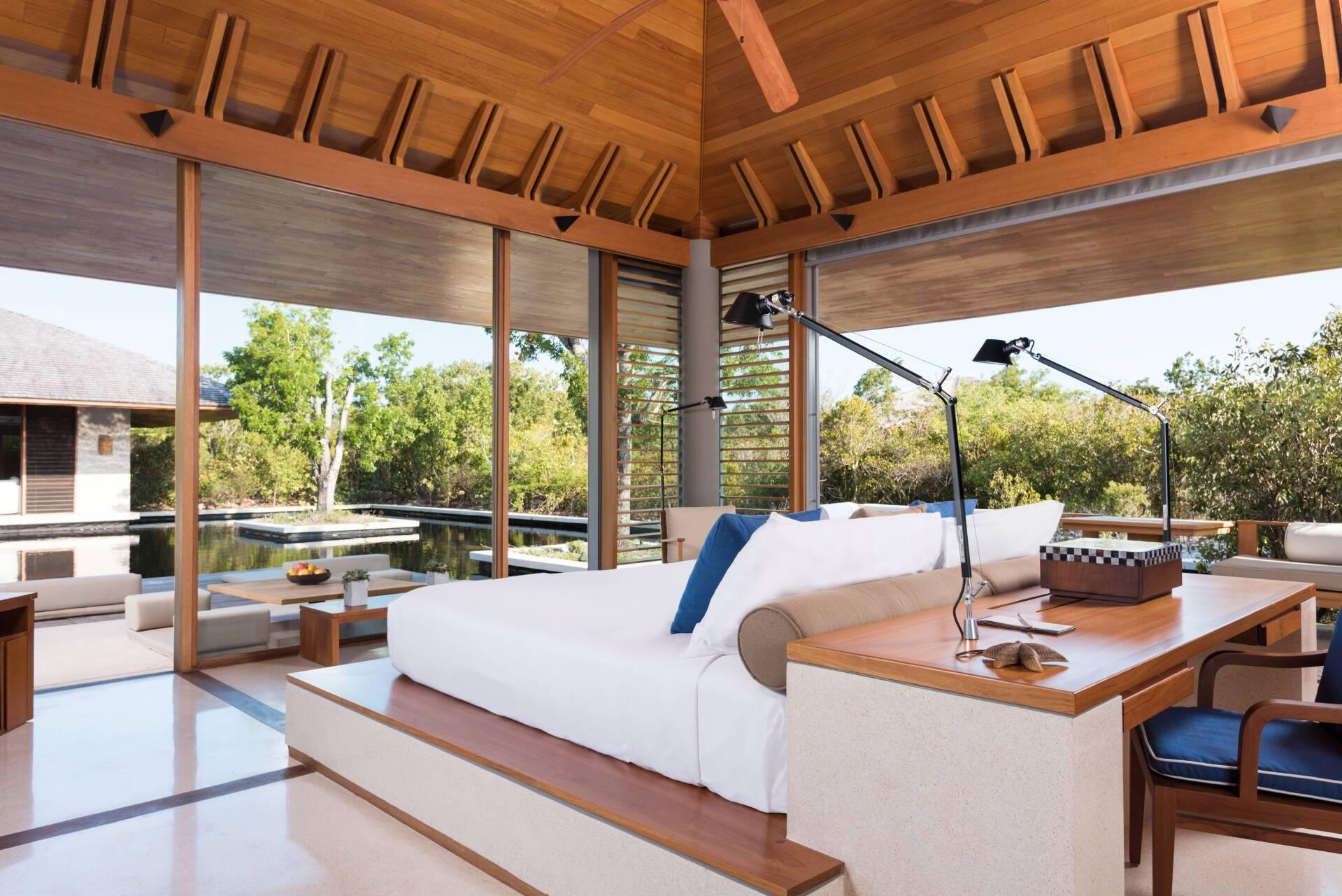 Amanyara Tranquility Villa Chambre Turks et Caicos