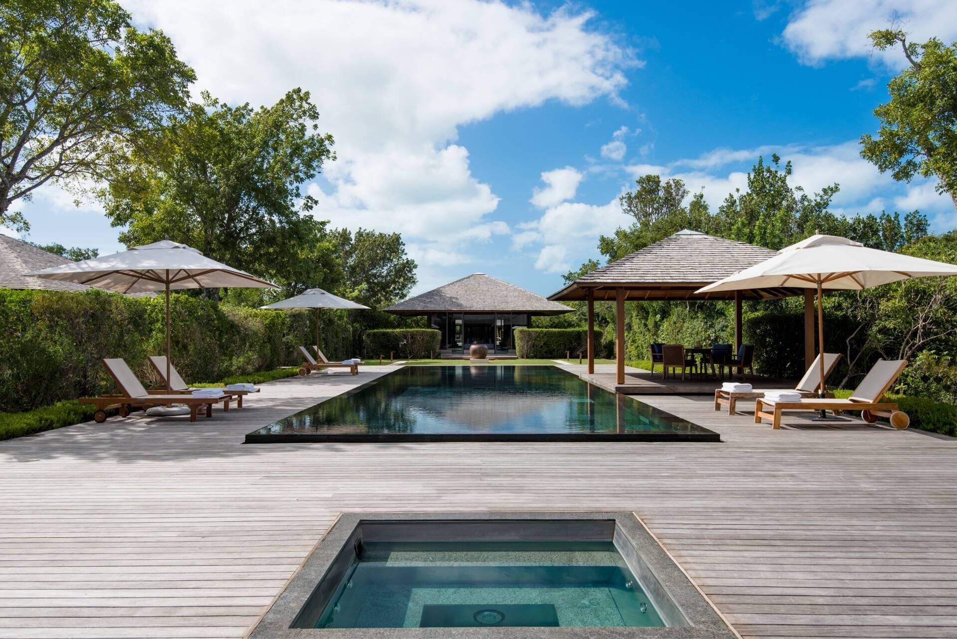 Amanyara Villa Jacuzzi Piscine Turks et Caicos