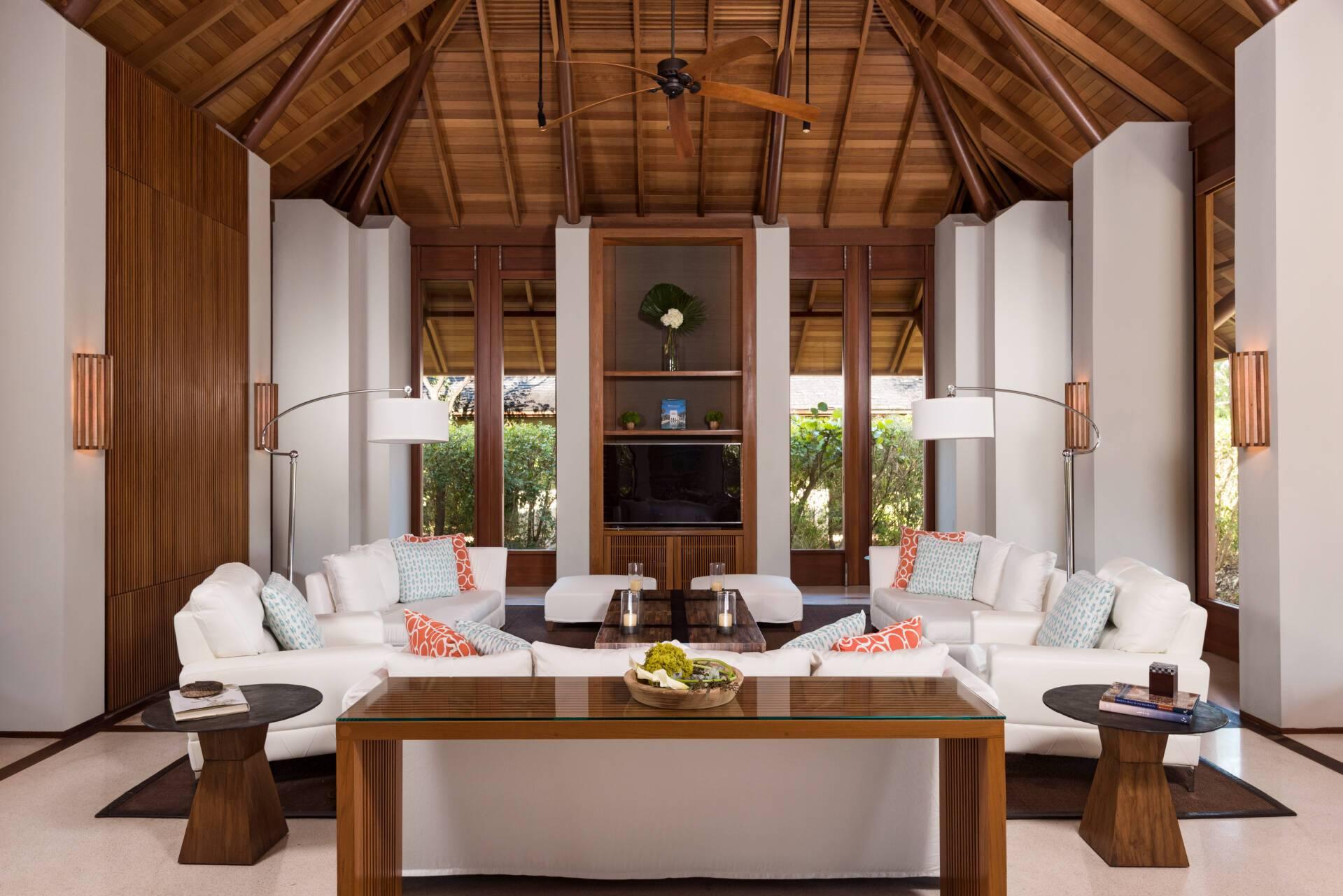Amanyara Villa Salon Turks et Caicos