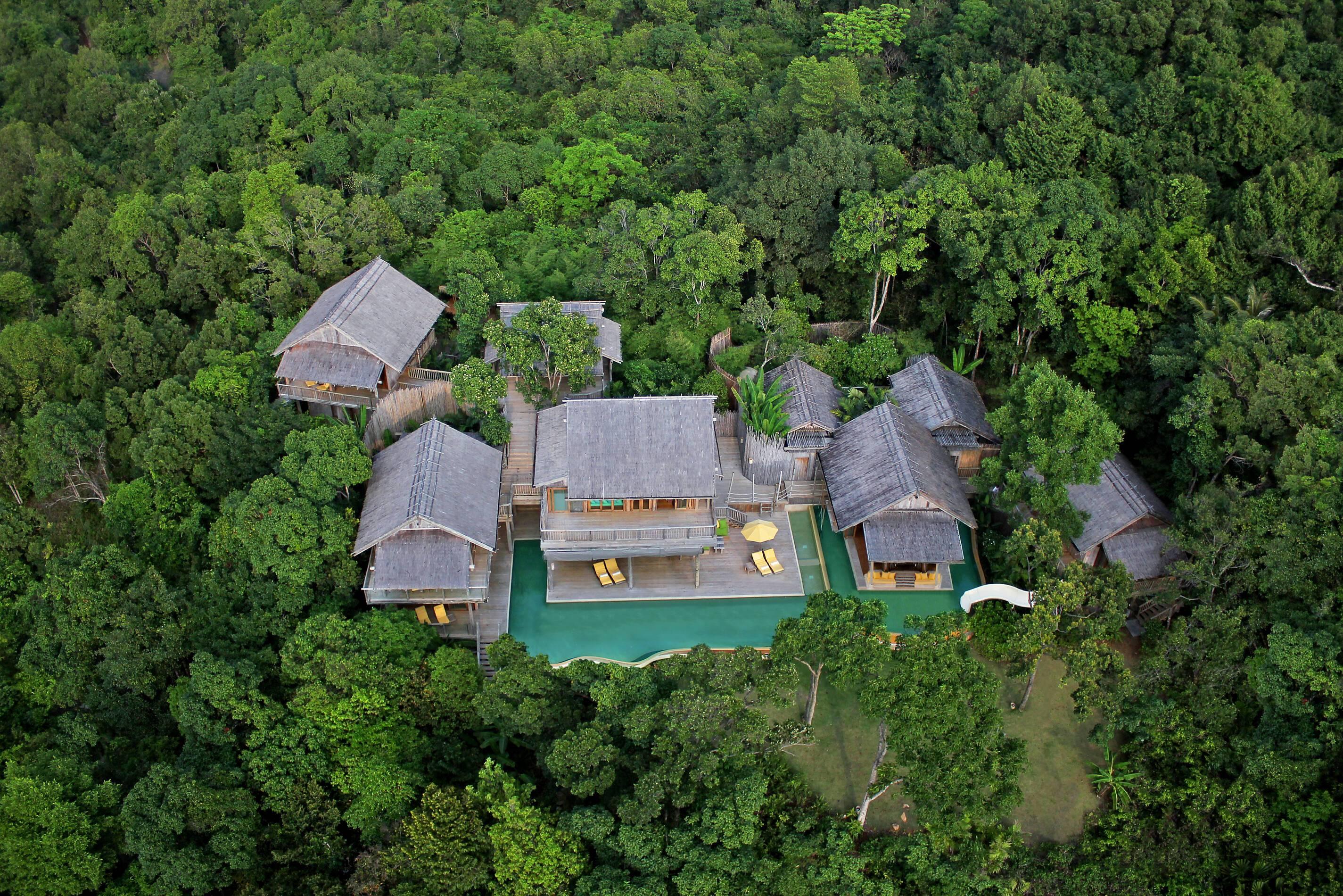 Soneva Kiri Ko Kood Thailande 5 Bedroom