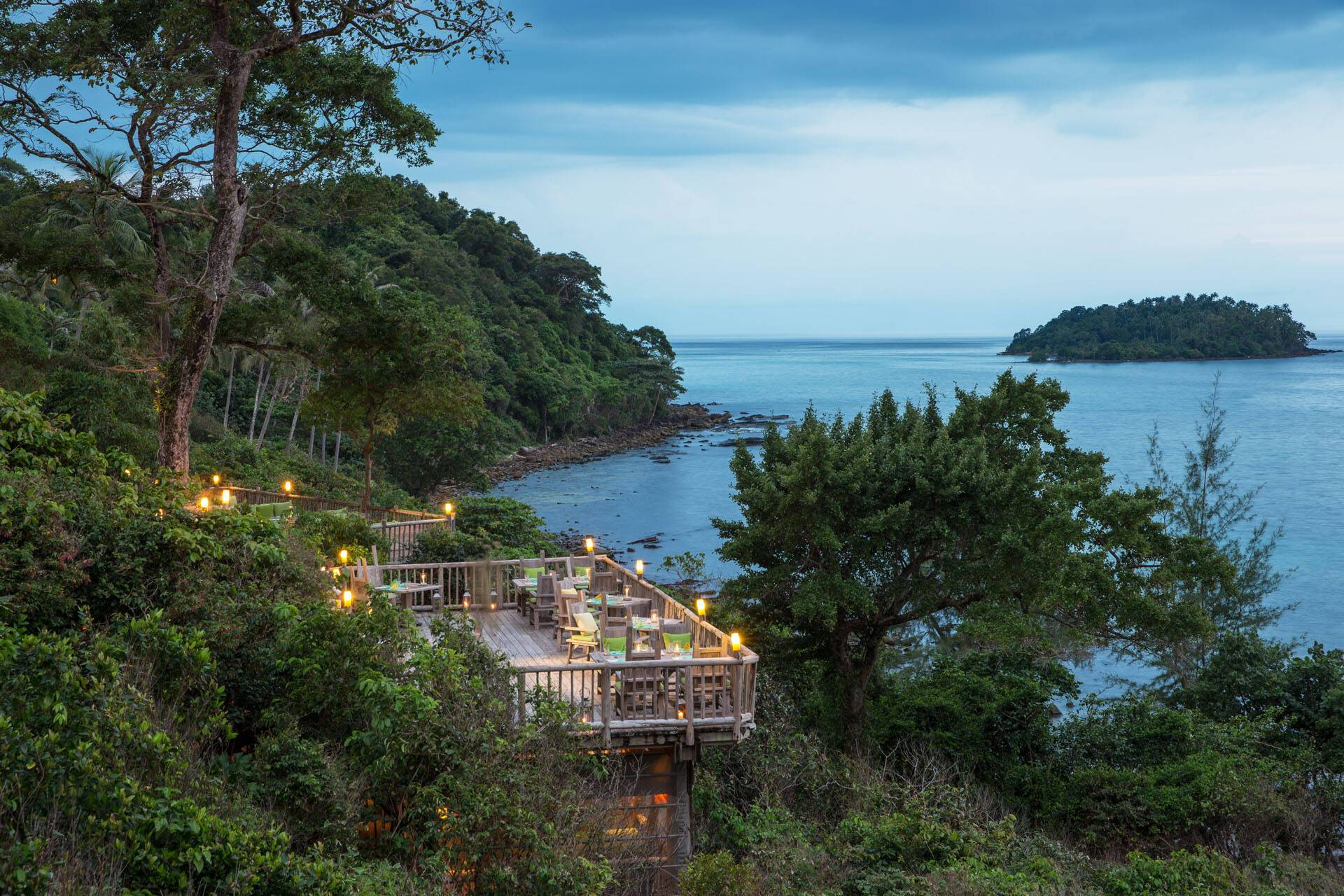 Soneva Kiri Thailande The View