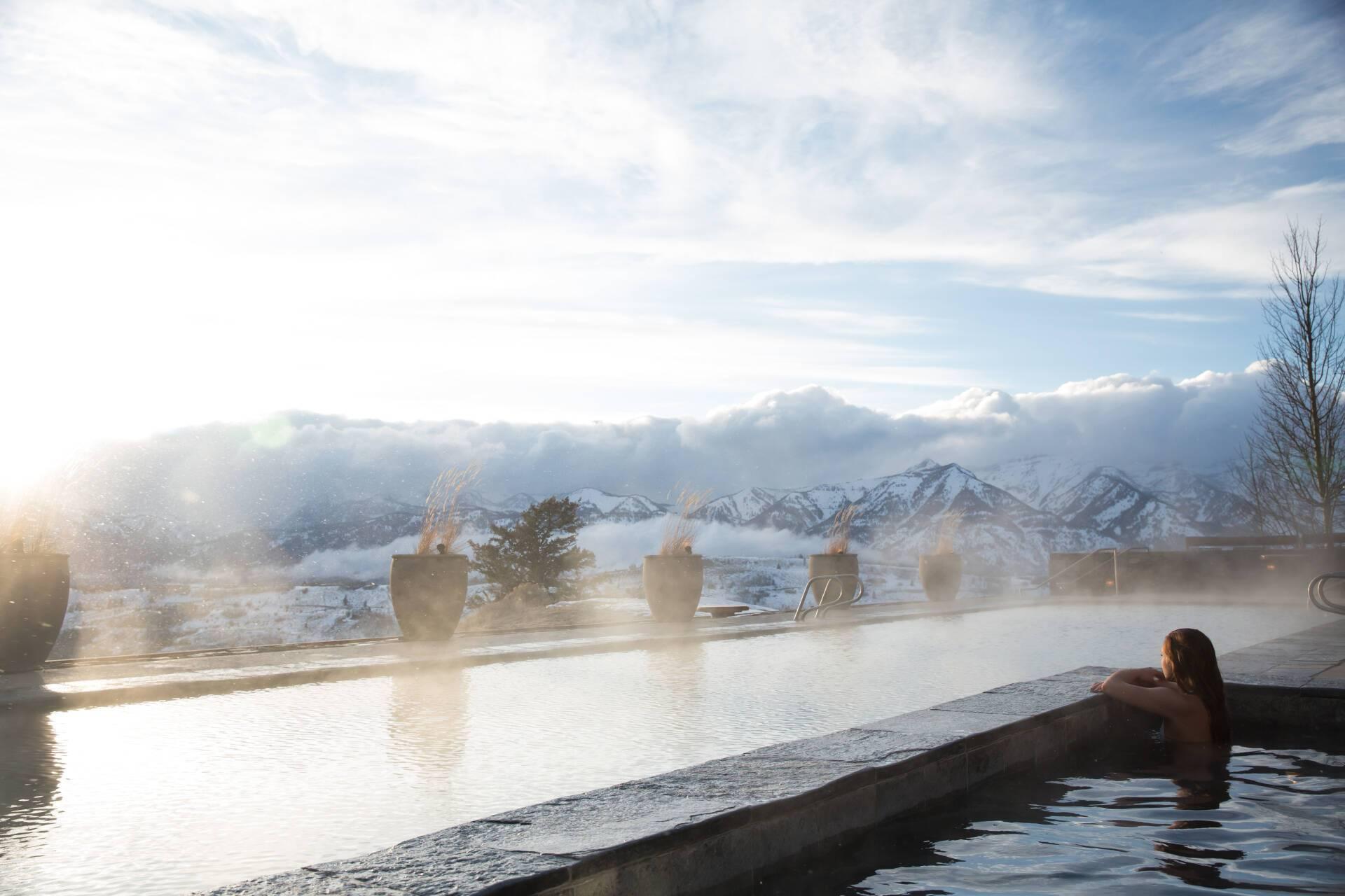 Amangani Jacuzzi Etats Unis Yellowstone