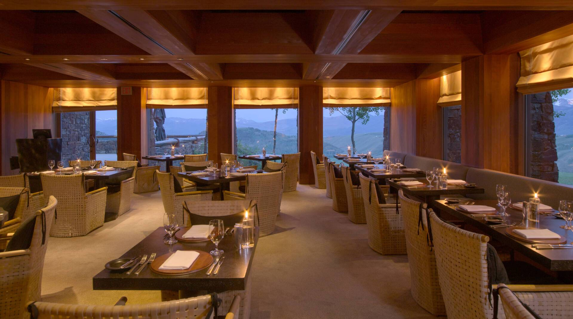 Amangani Restaurant The Grill Etats Unis Yellowstone