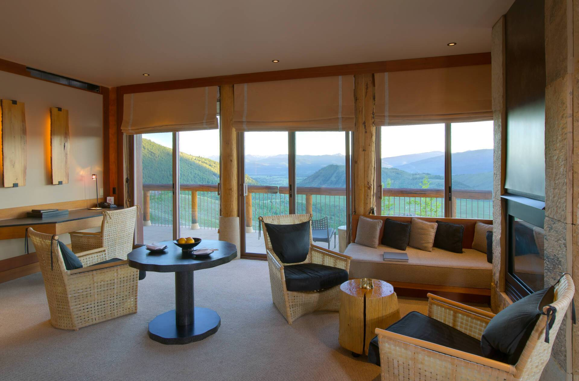 Amangani Spring Gulch Suite Salon Etats Unis Yellowstone